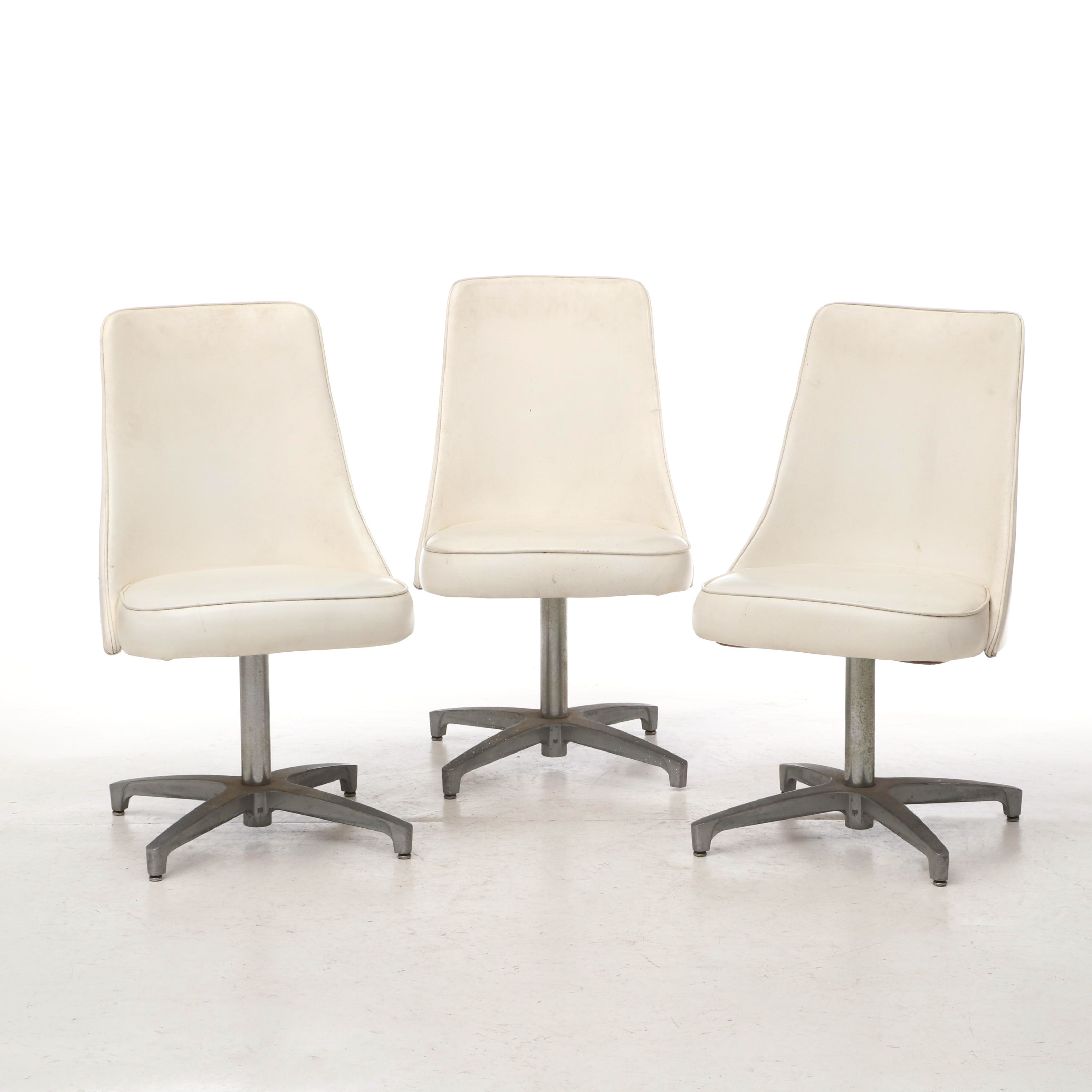 Mid-Century Modern Swivel Side Chairs by Chromcraft, Mid-20th Century