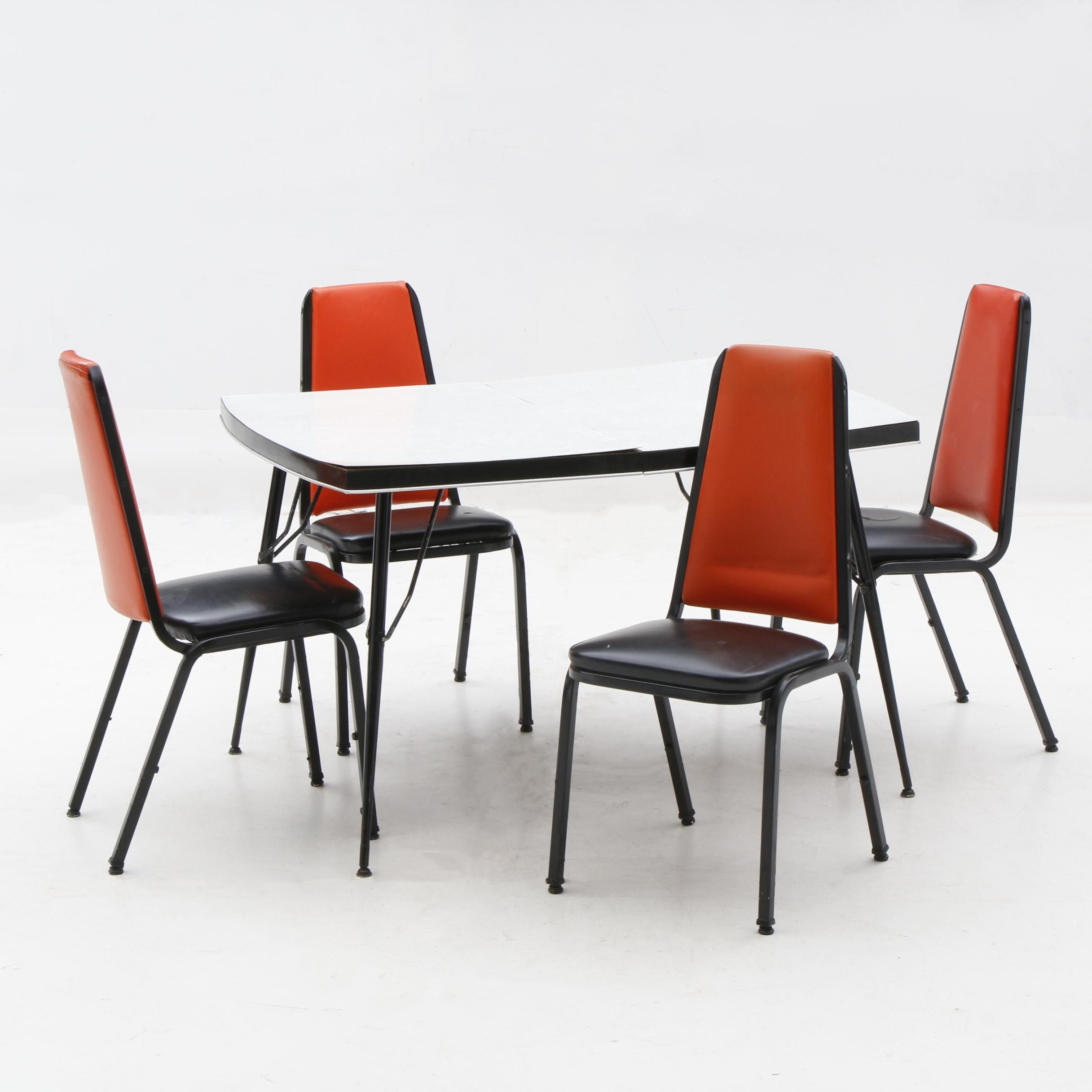 Mid-Century Modern Dinette Set, 20th Century