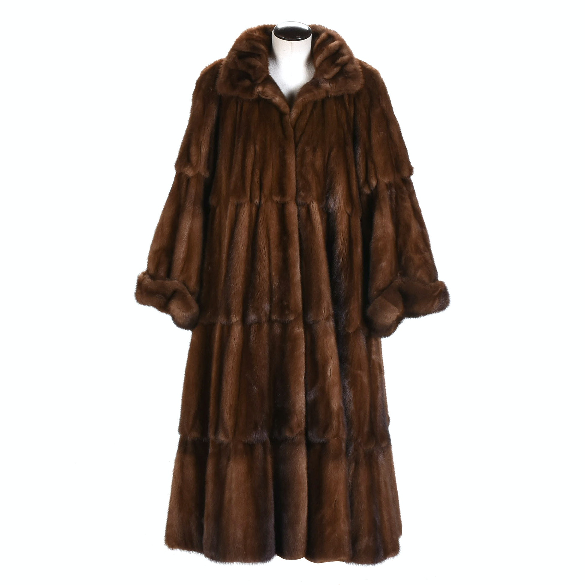 Fendi Mink Pelt Coat from the Carol and Irwin Ware Collection at I. Magnin
