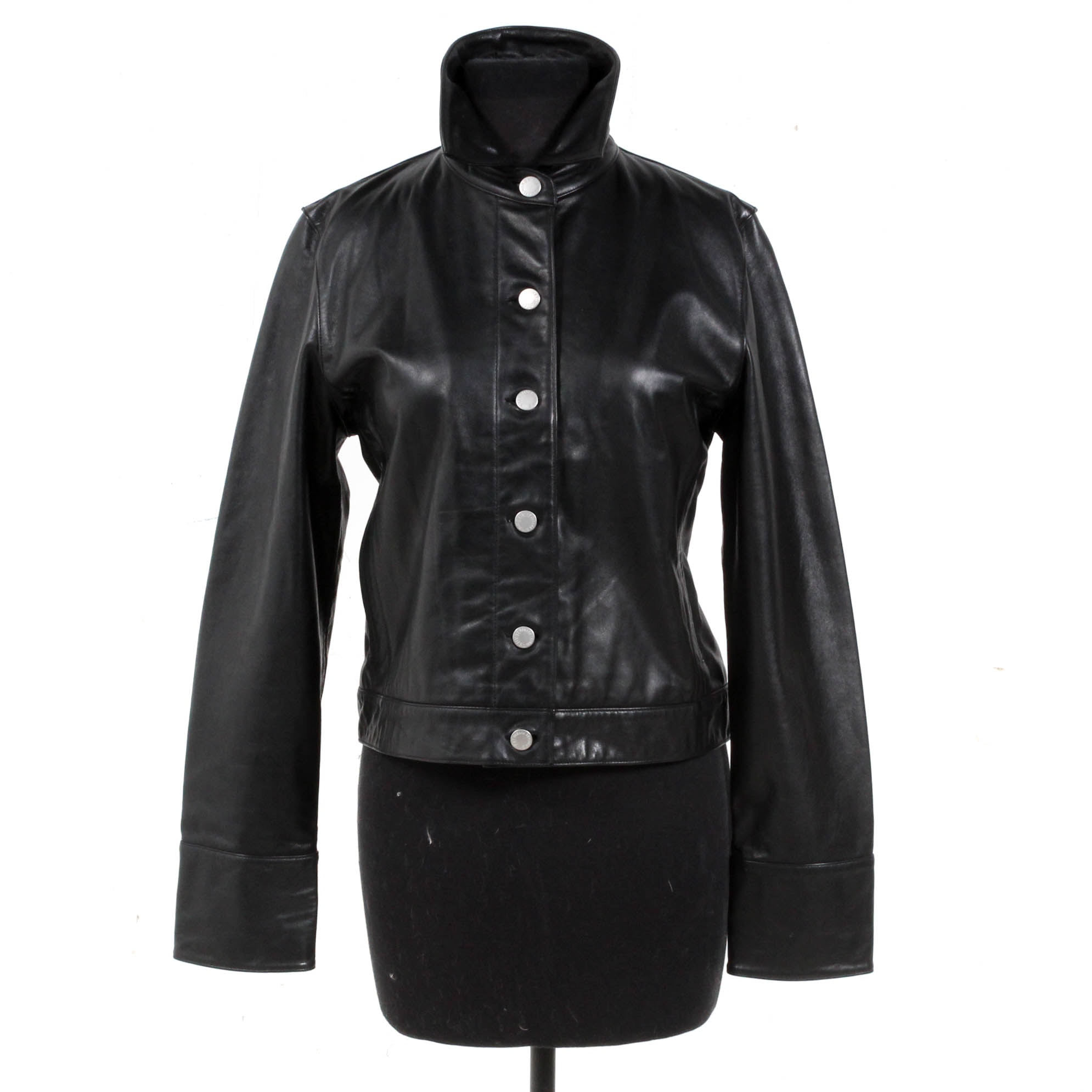 Women's Banana Republic Black Leather Jacket