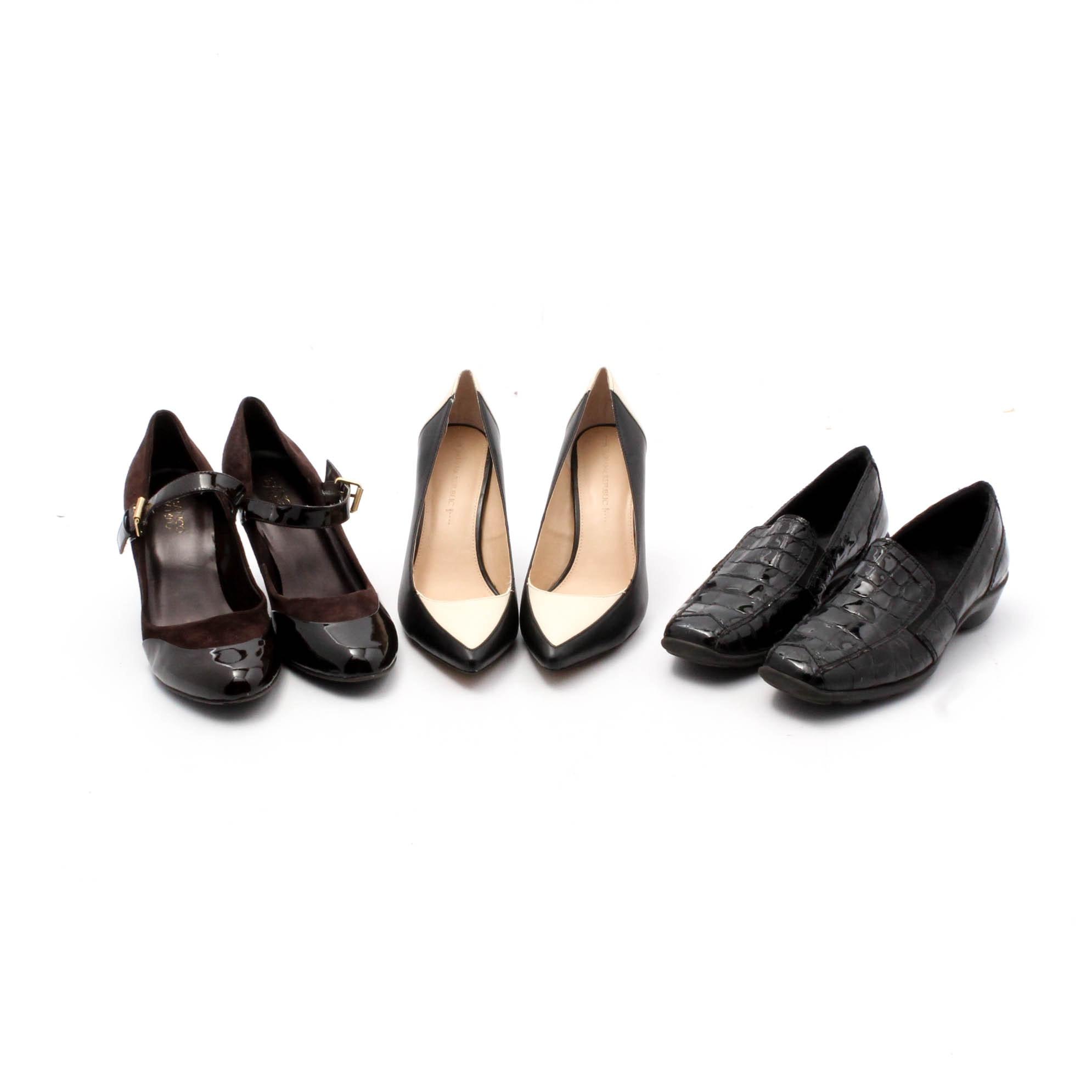 Women's Franco Sarto, 1803, and Banana Republic Shoes
