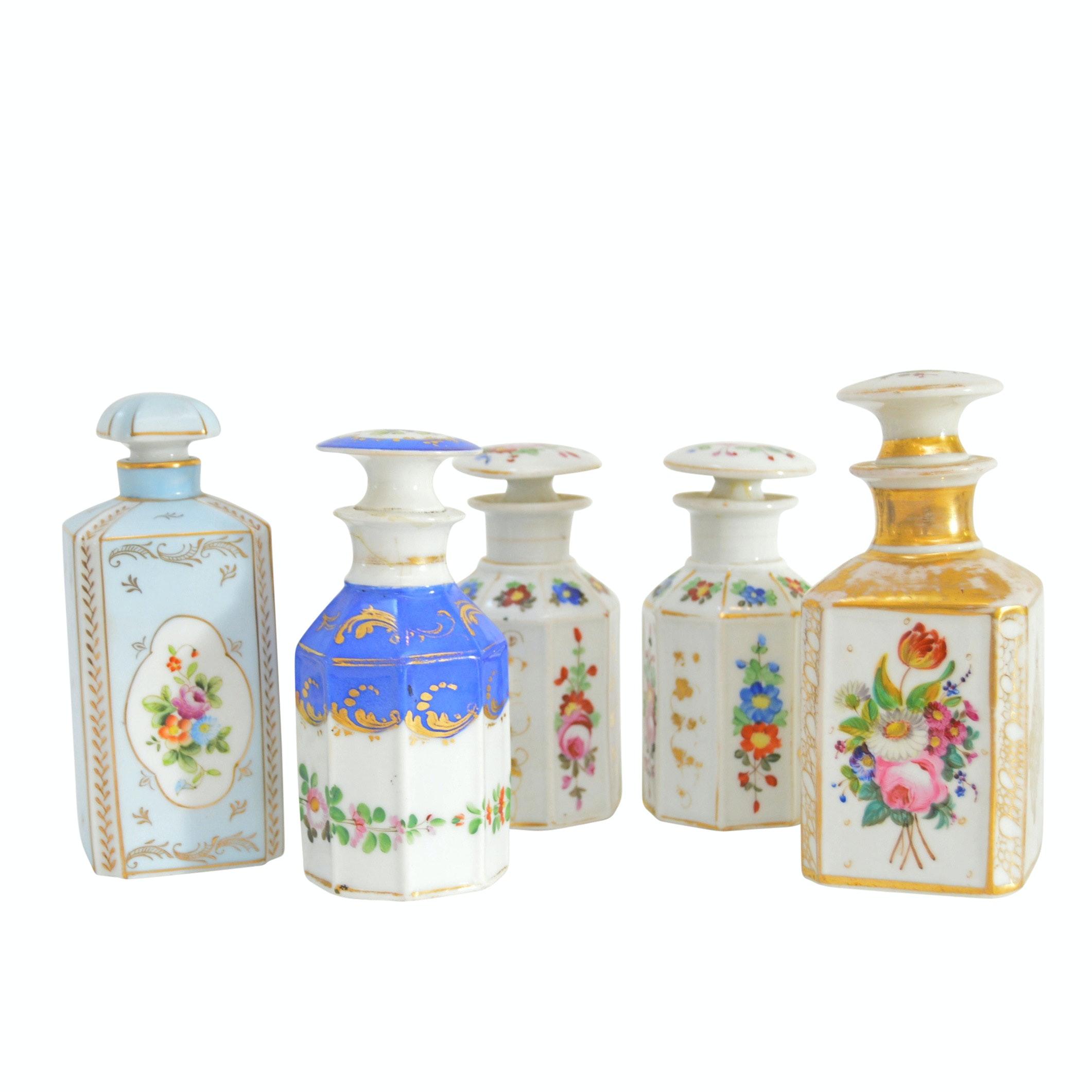 Vintage Porcelain Perfume Bottles