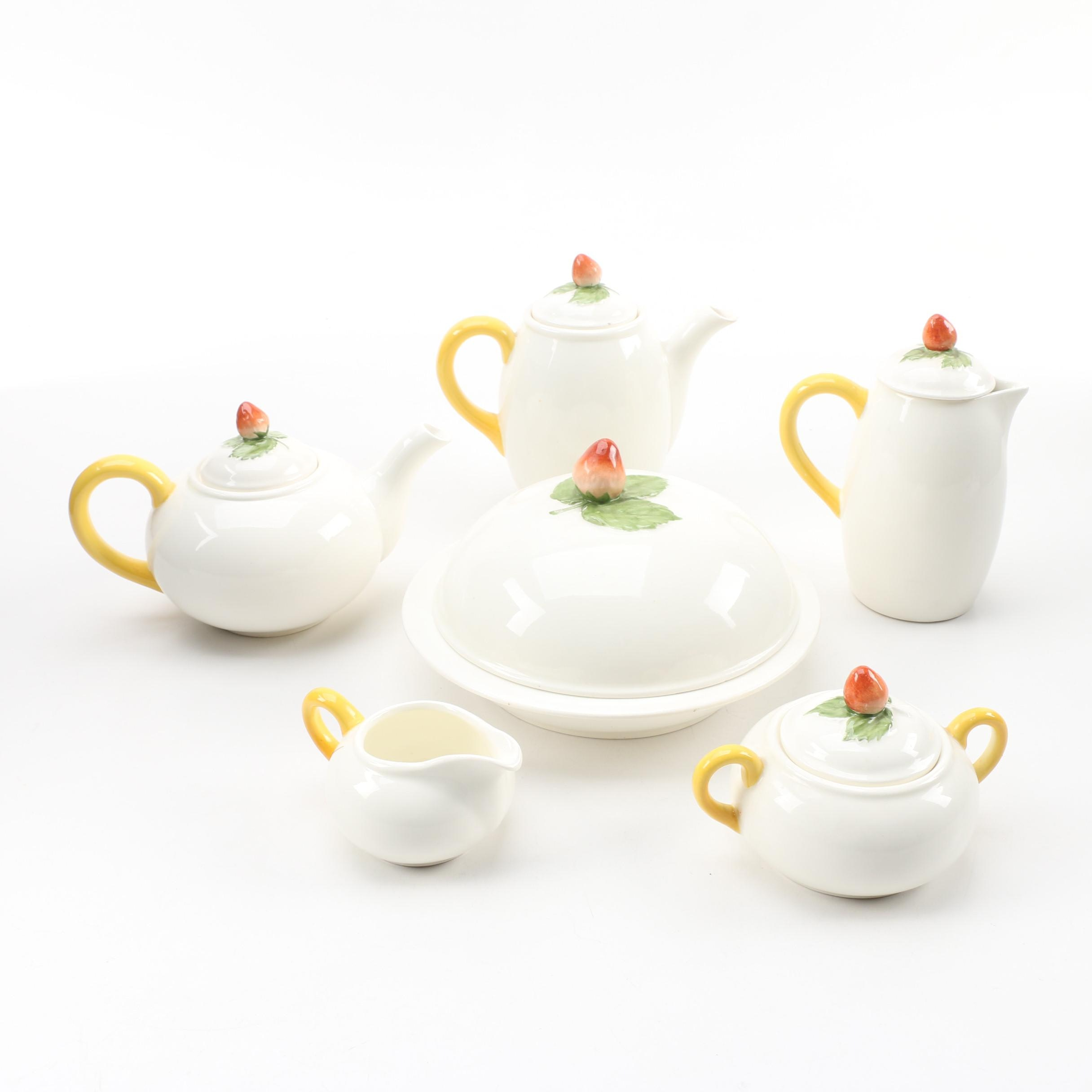Bavarian Ceramic Tea Serving Set