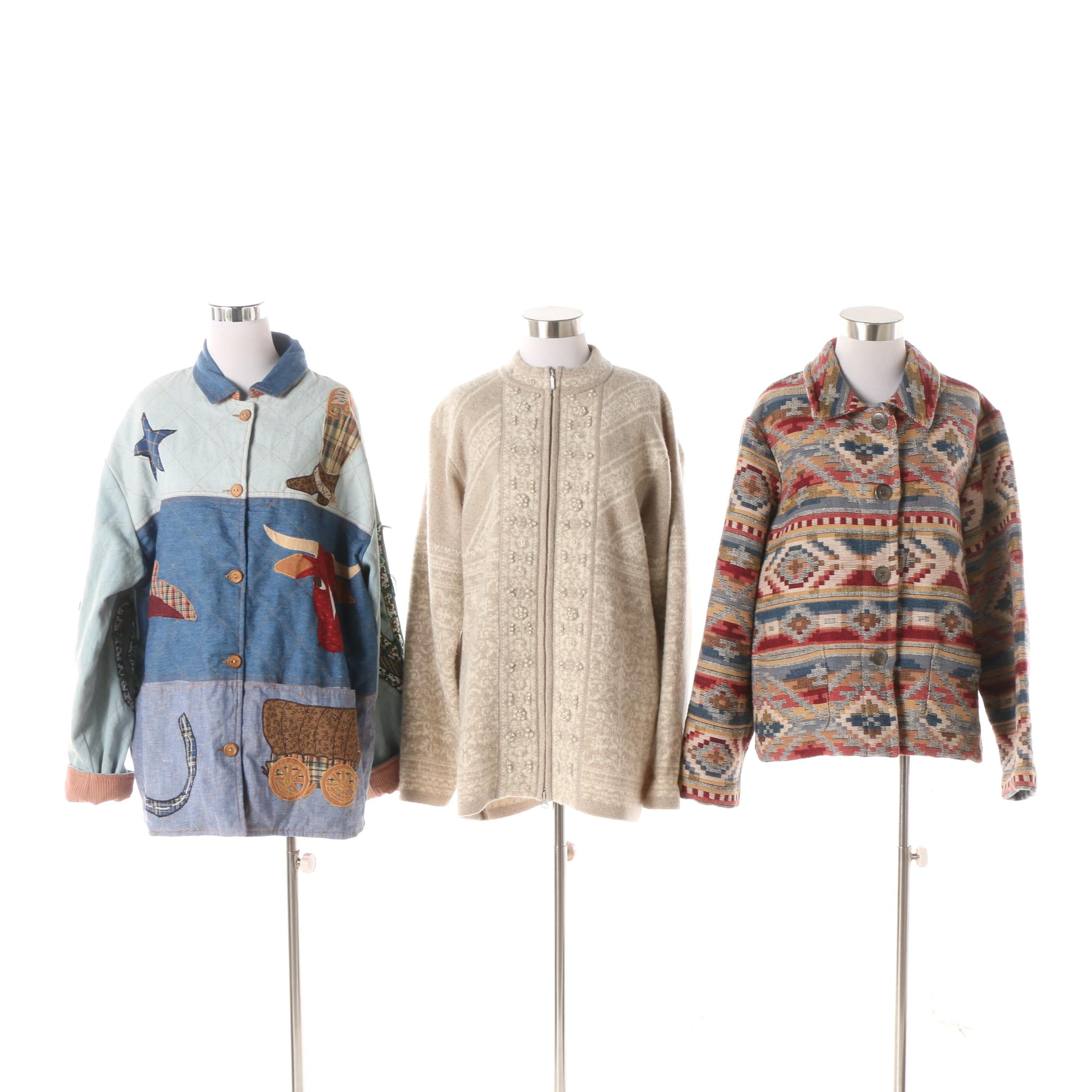 Women's Jackets including Pendleton Originals and Chico's Design