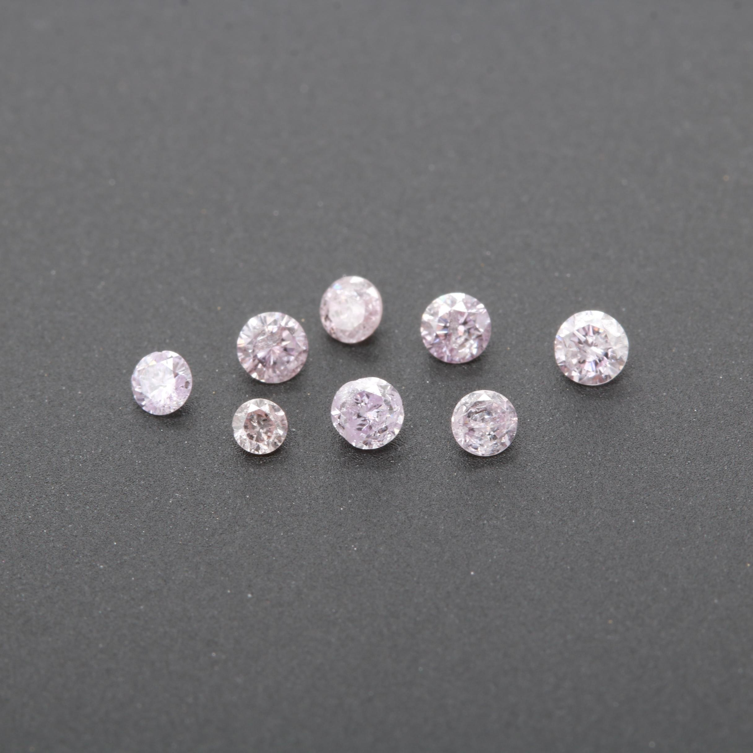 Loose 0.34 CTW Diamond Gemstones