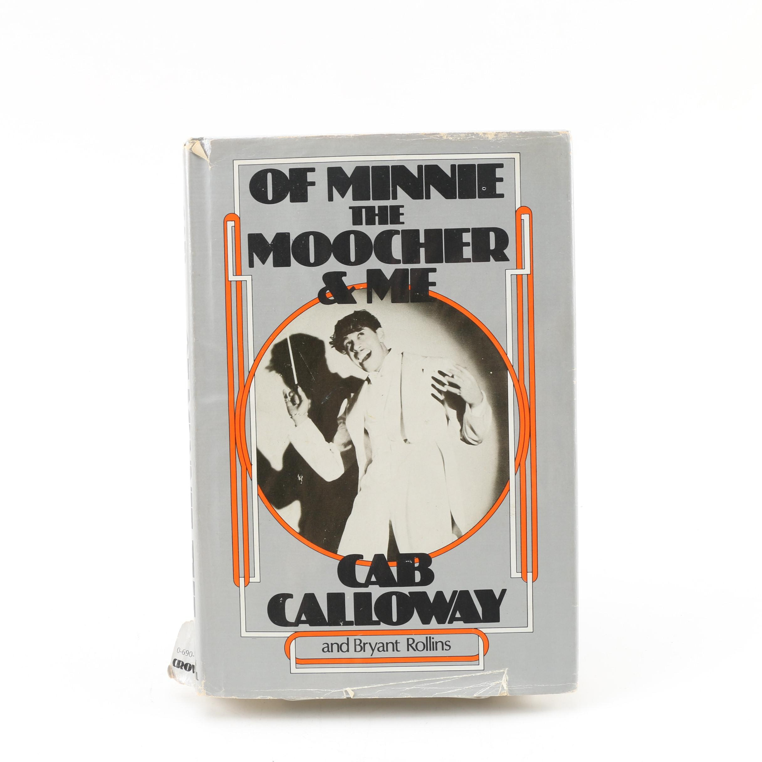 "1976 Signed Second Printing ""Of Minnie the Moocher"" by Cab Calloway"