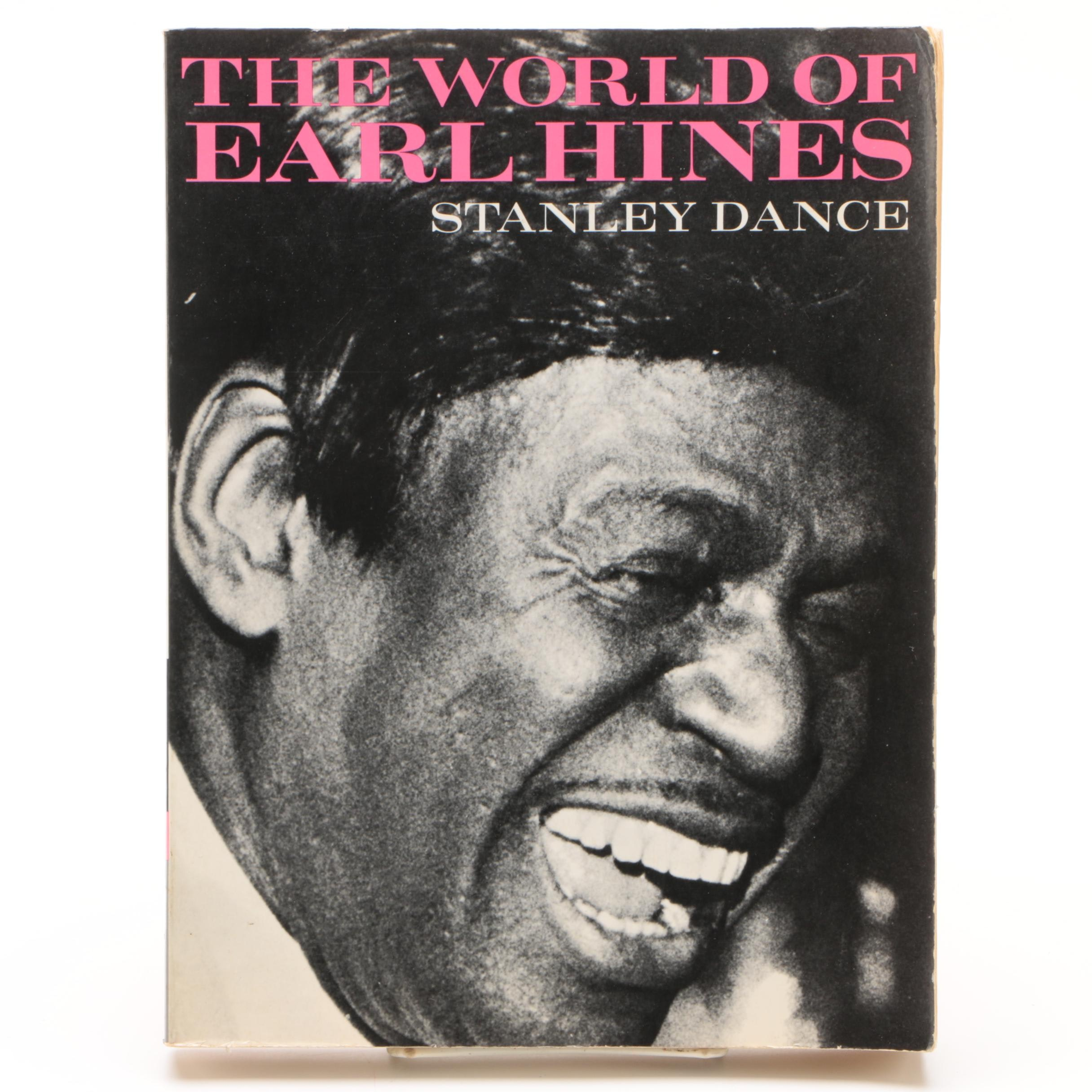 "1977 Signed ""The World of Earl Hines, Volume Two"" by Stanley Dance"