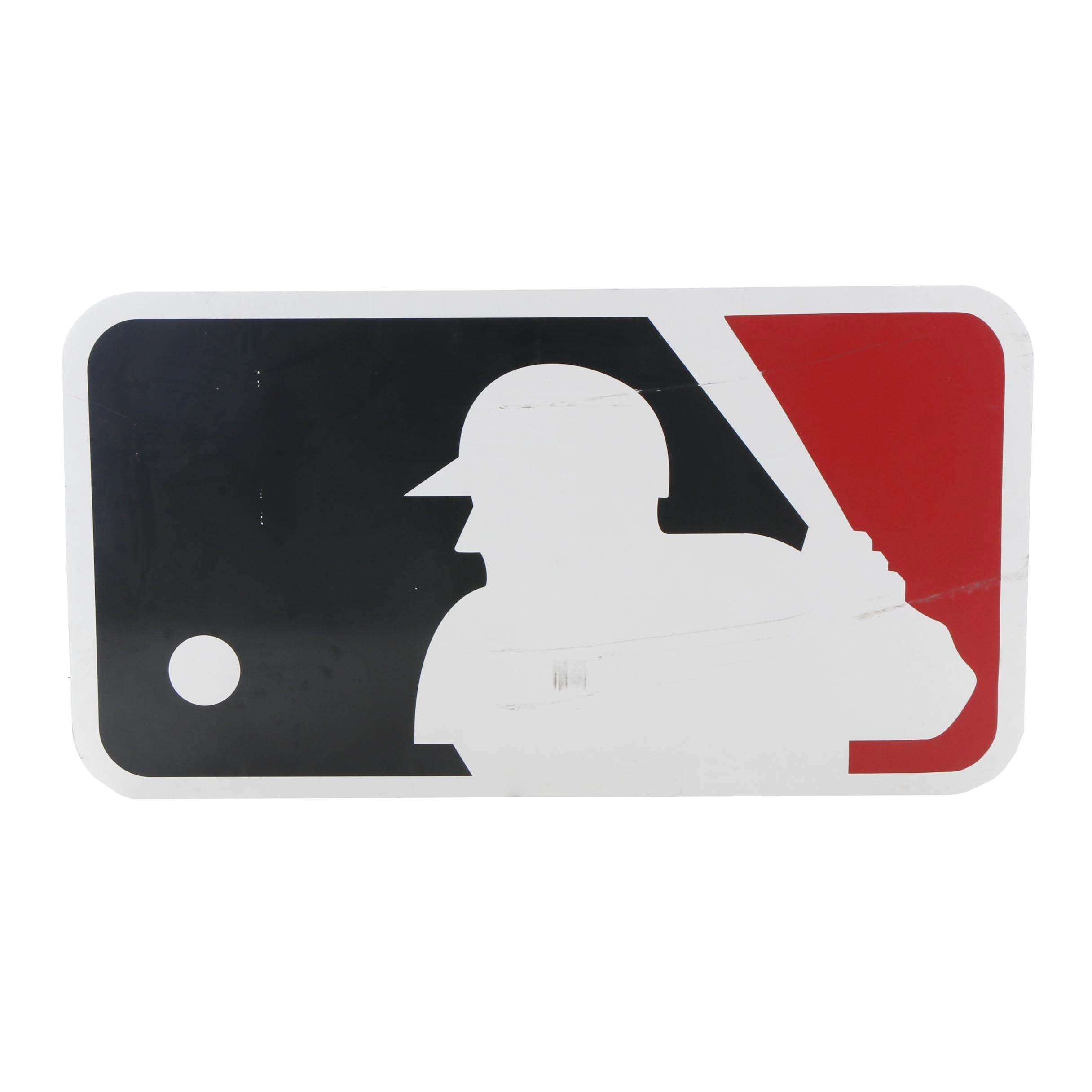 Large Major League Baseball Logo Sign