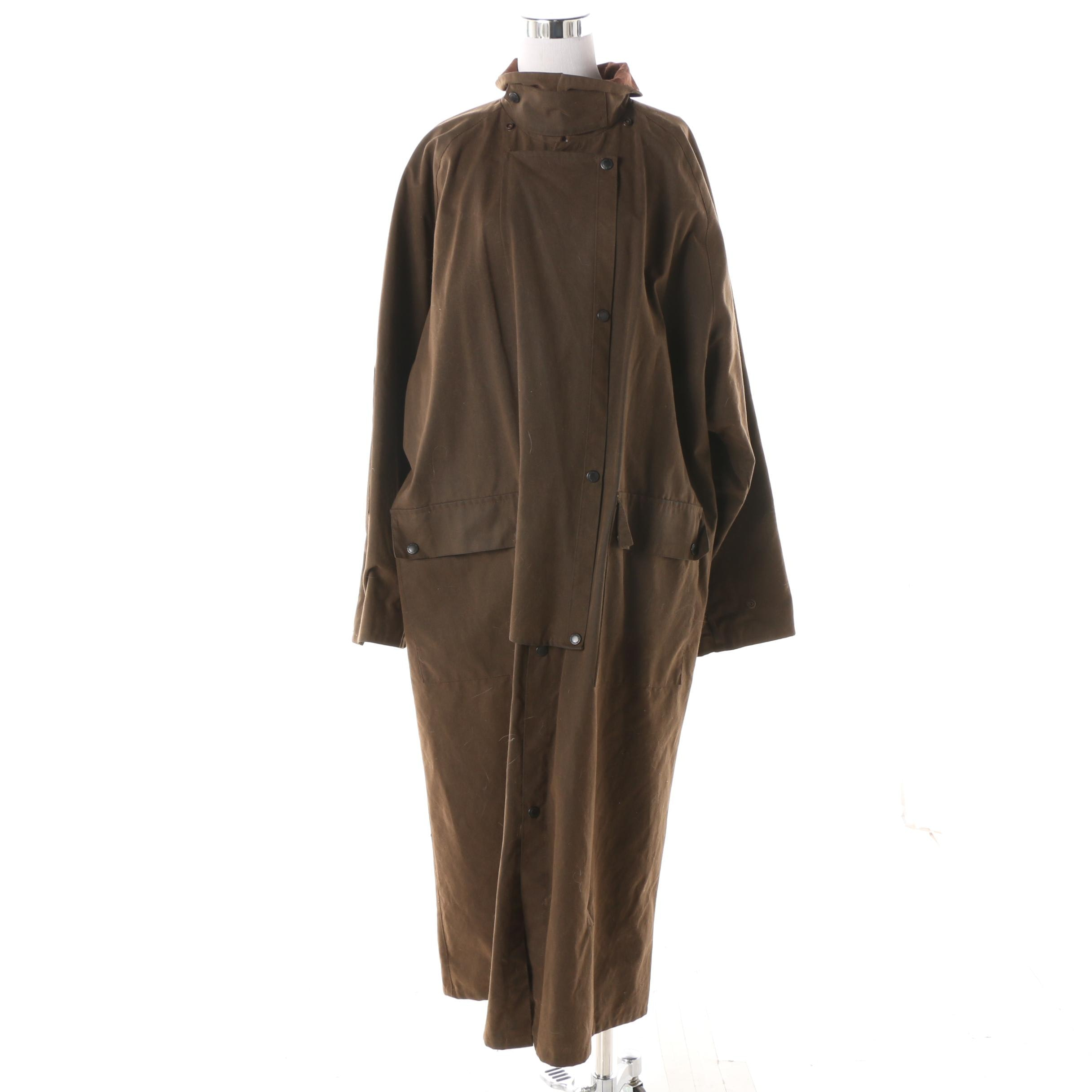 Overland Outfitters Australian Outback Collection Brown Oilcloth Dover Coat