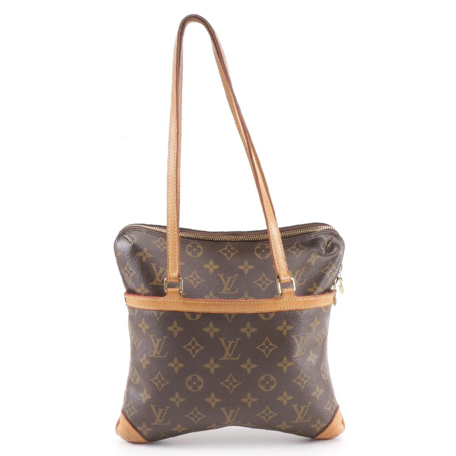 2004 Louis Vuitton Monogram Canvas Sac Coussin GM Shoulder Bag