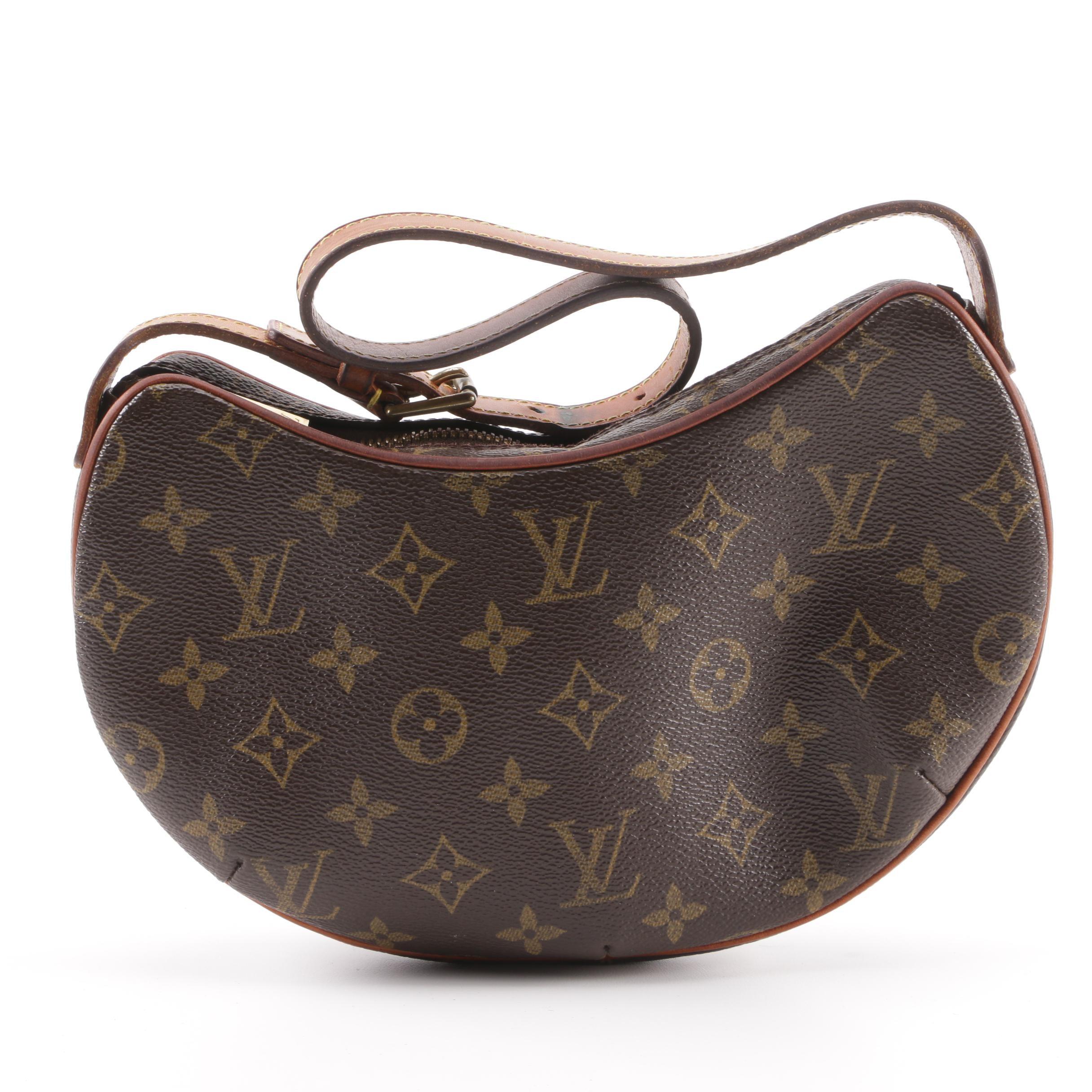 2008 Louis Vuitton Monogram Canvas Croissant Handbag