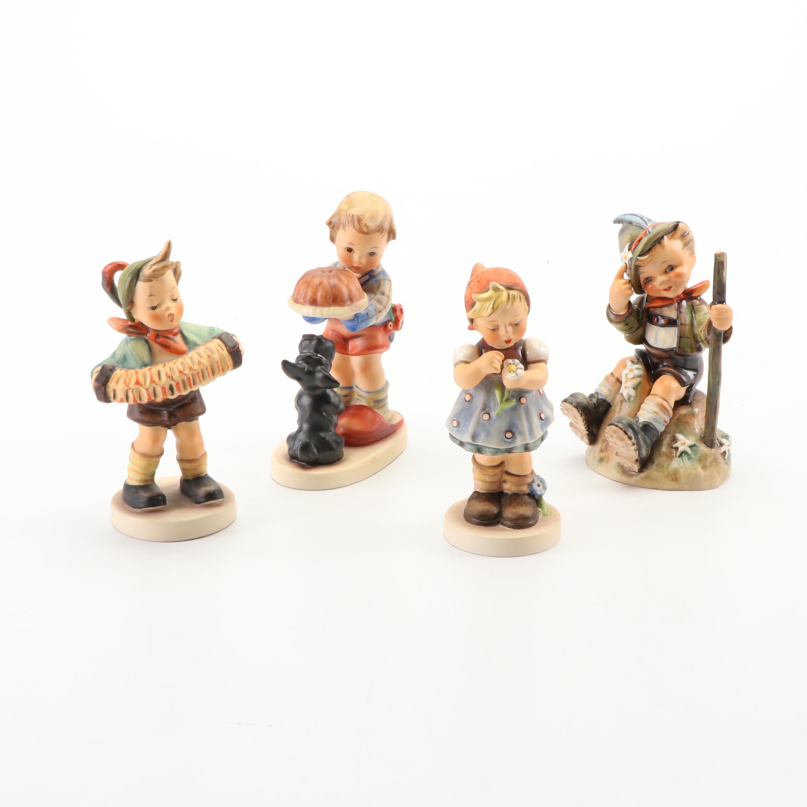 "Goebel Hummel Porcelain Figurines Including ""Mountaineer"""