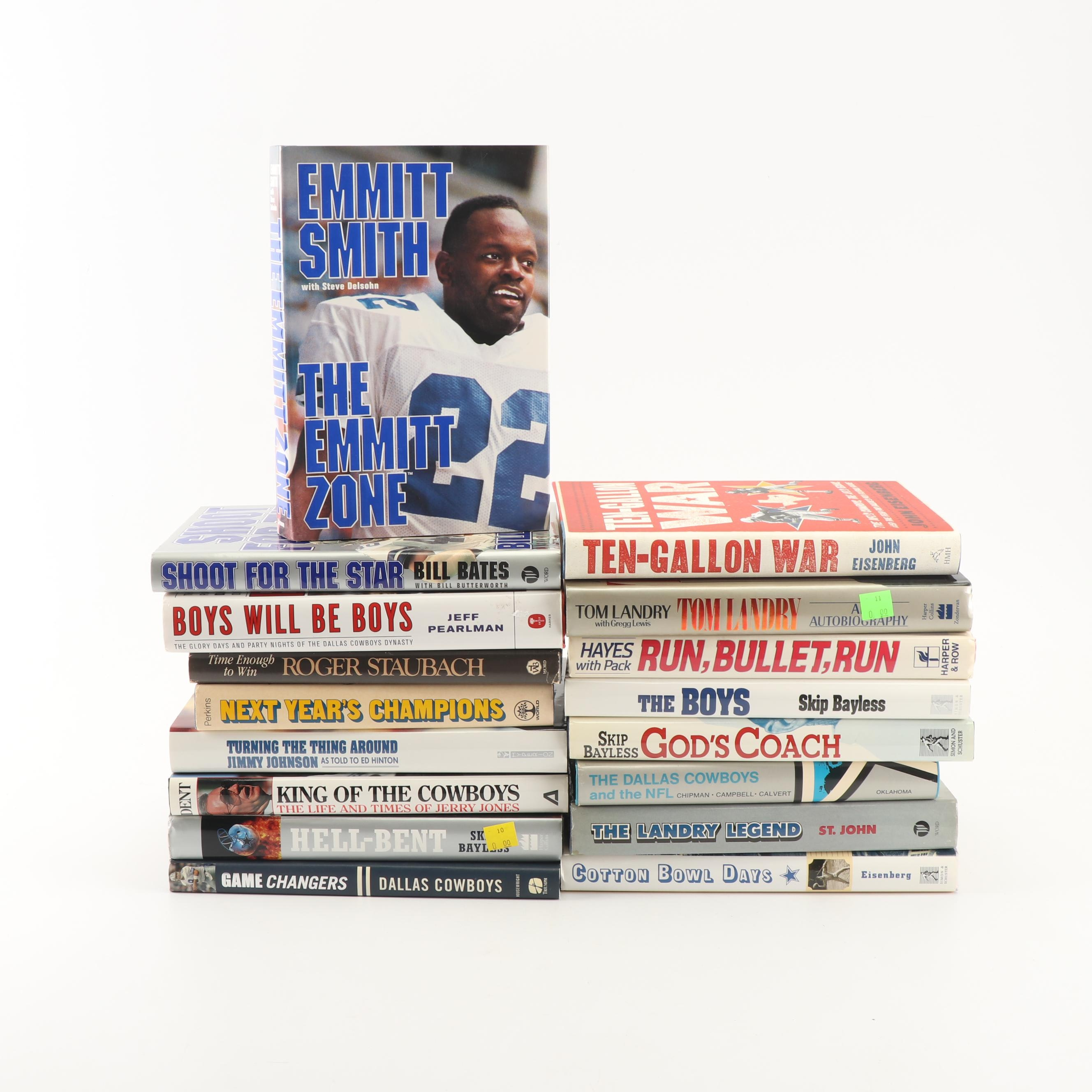 Collection of Dallas Cowboys Literature