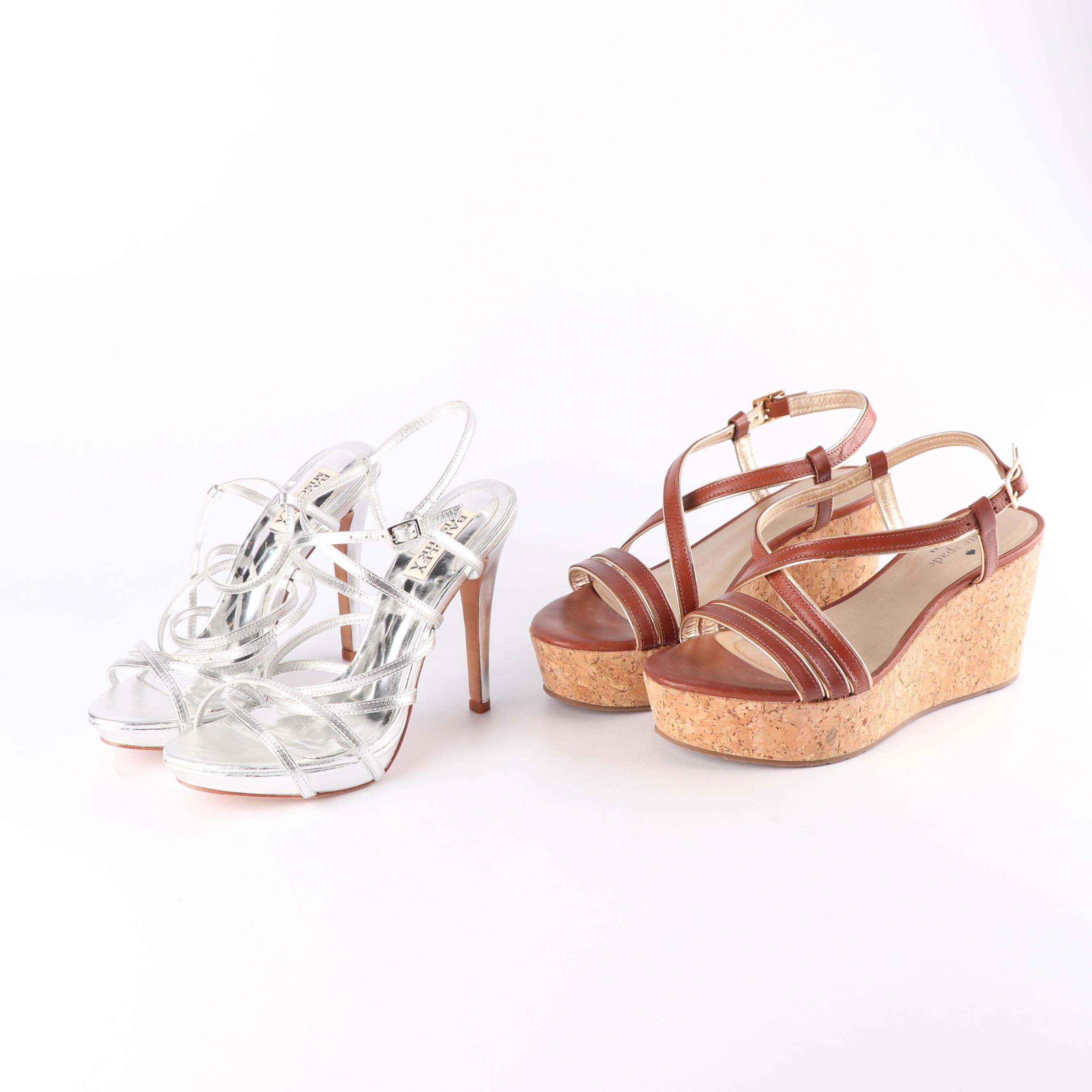 Badgley Mischka Platform Sandals and Kate Spade New York Cork Wedge Sandals