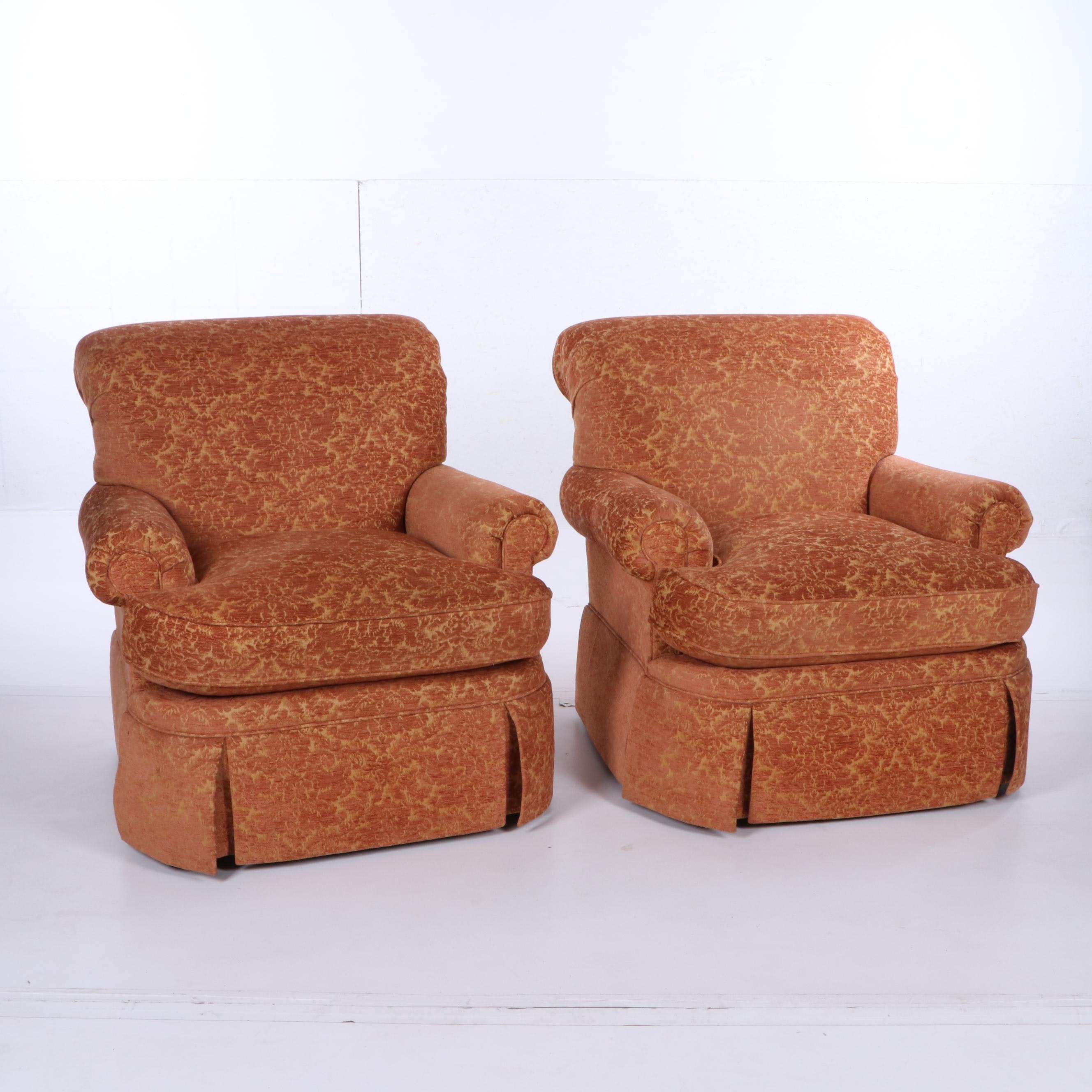 Upholstered Armchairs by Southwood, Circa 2002