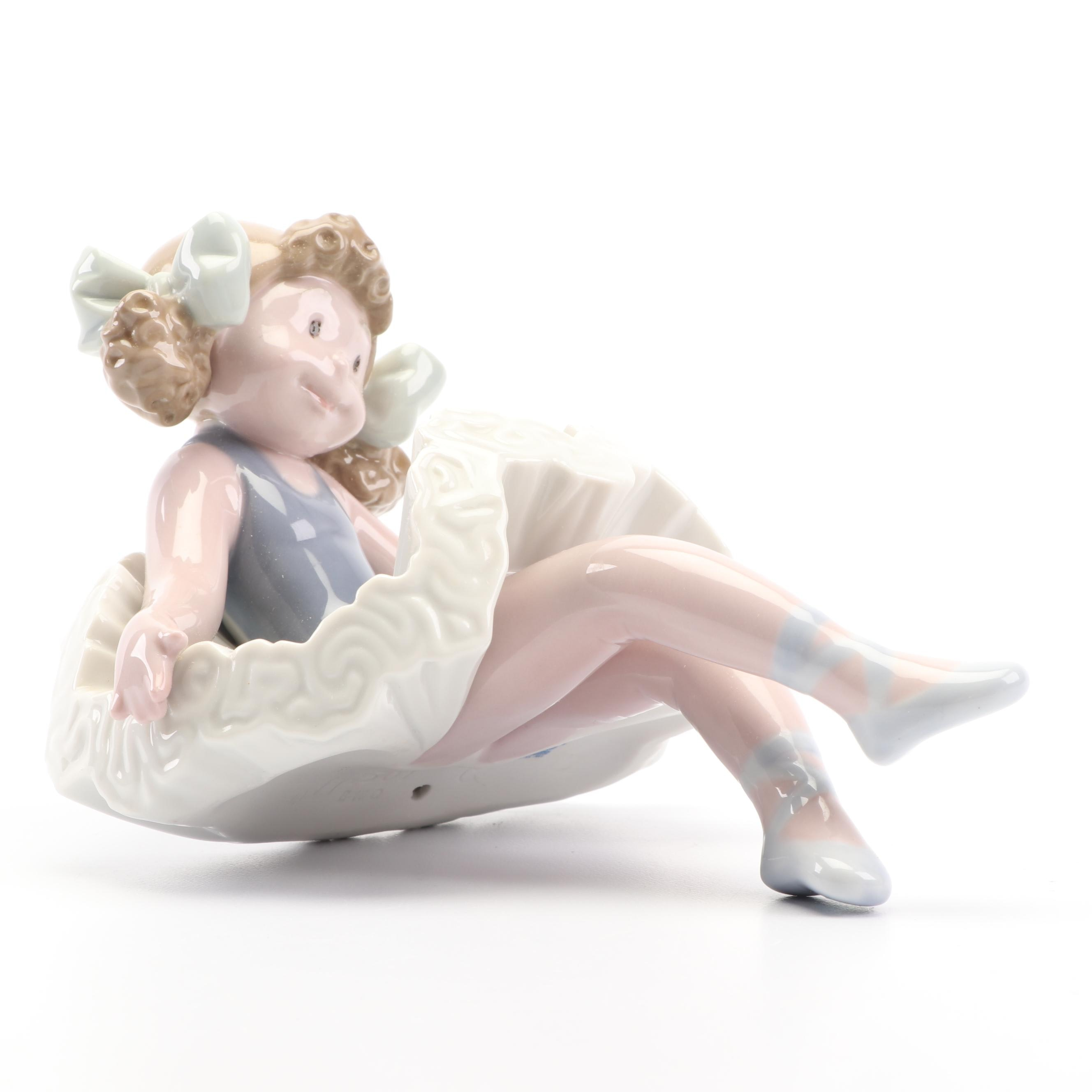 "Lladró ""Rag Doll"" Shelf Sitter Porcelain Figurine"