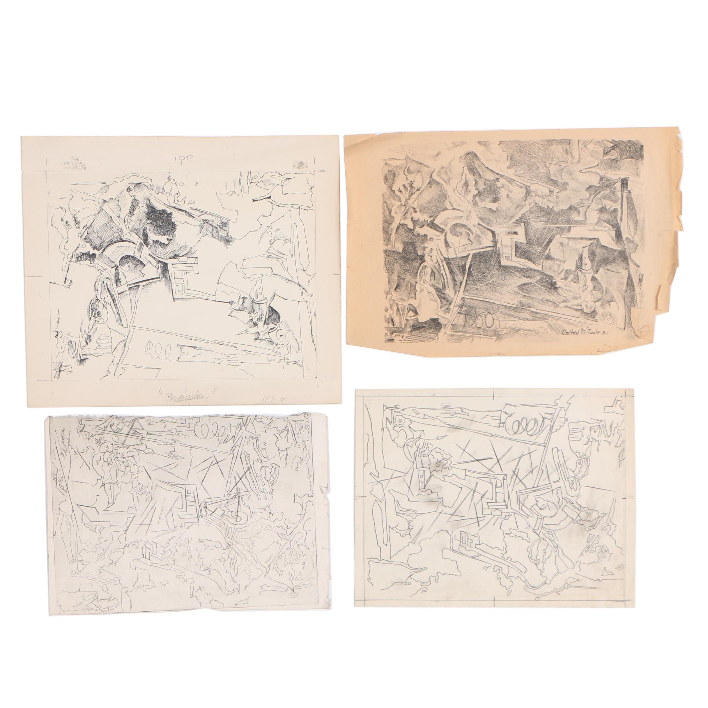 Cathal Brendan O'Toole Drawings and Prints