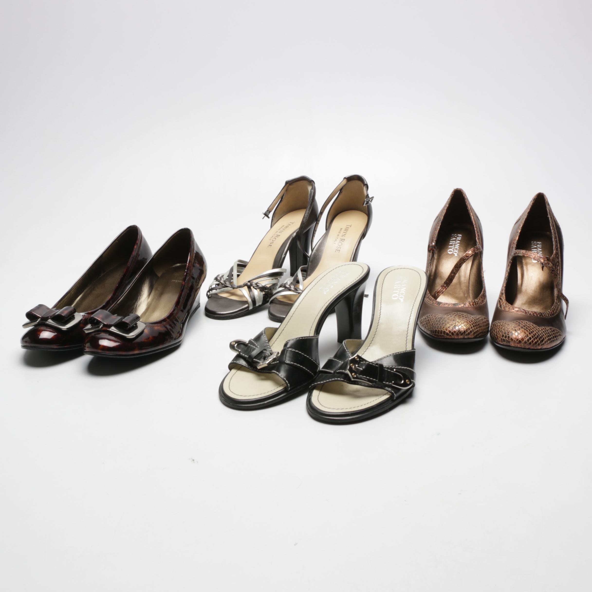 Women's Franco Sarto, Taryn Rose and Stuart Weitzman Heels