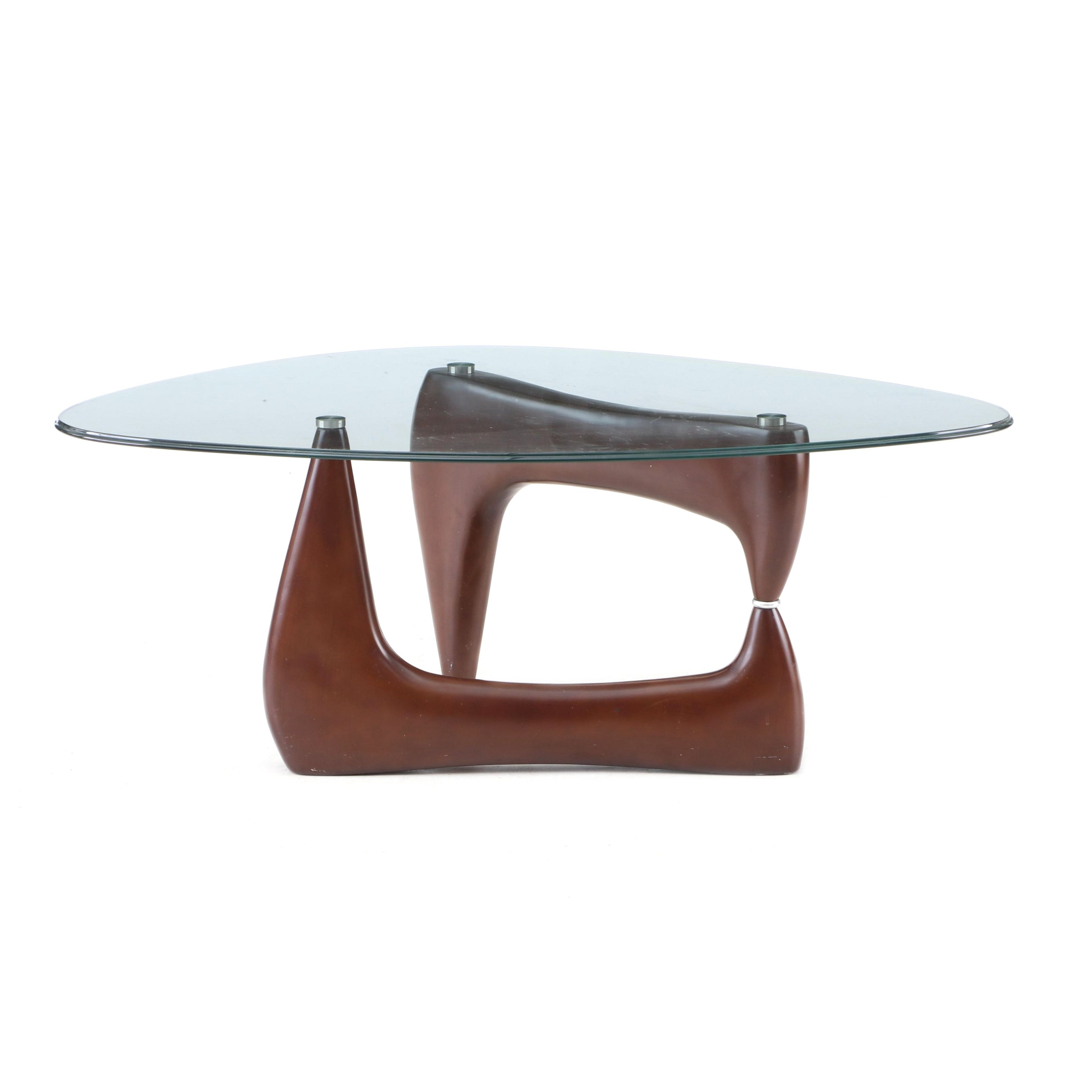 Isamu Noguchi Style Coffee Table, 20th Century