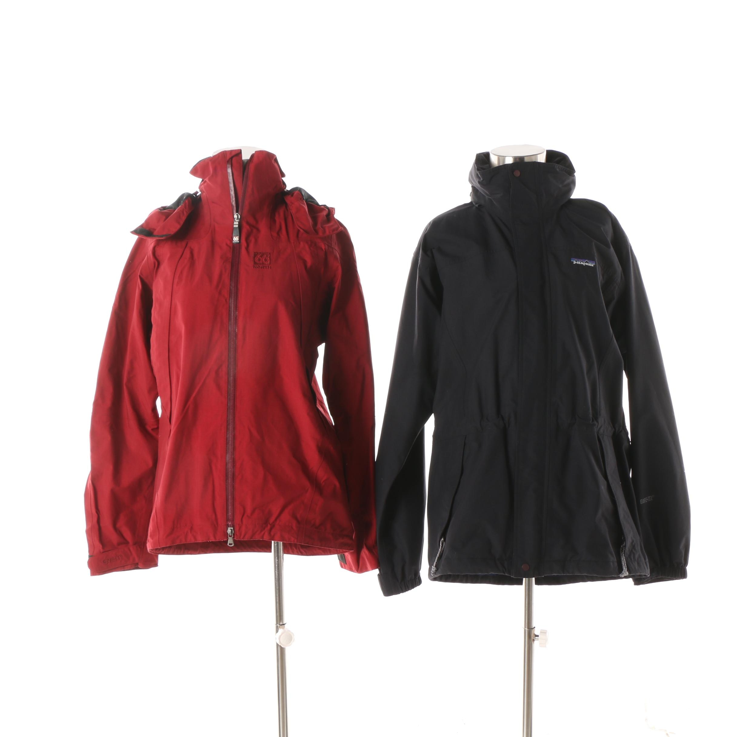 Women's Patagonia and 66 Degrees North Jackets
