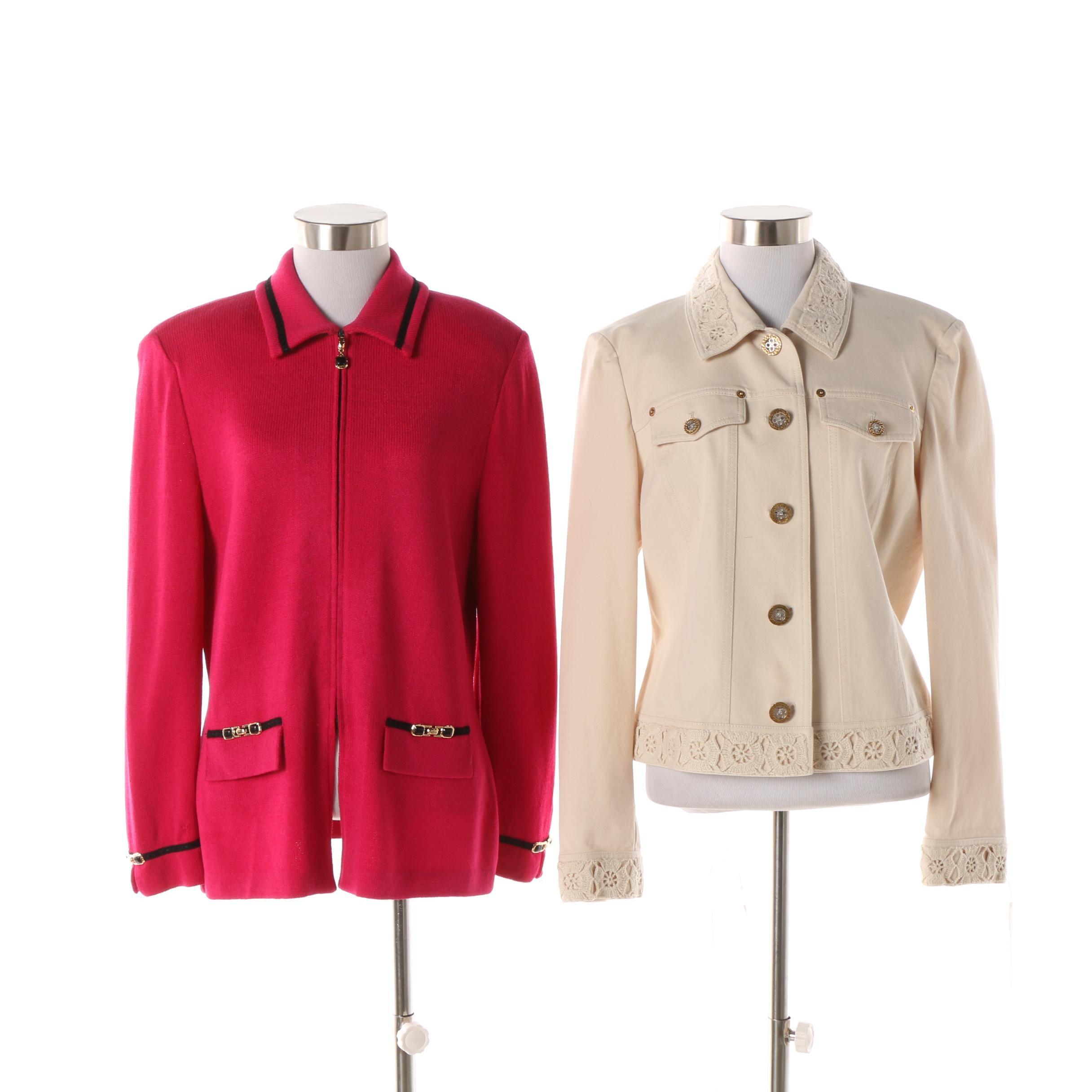 Women's St. John Brand Jackets