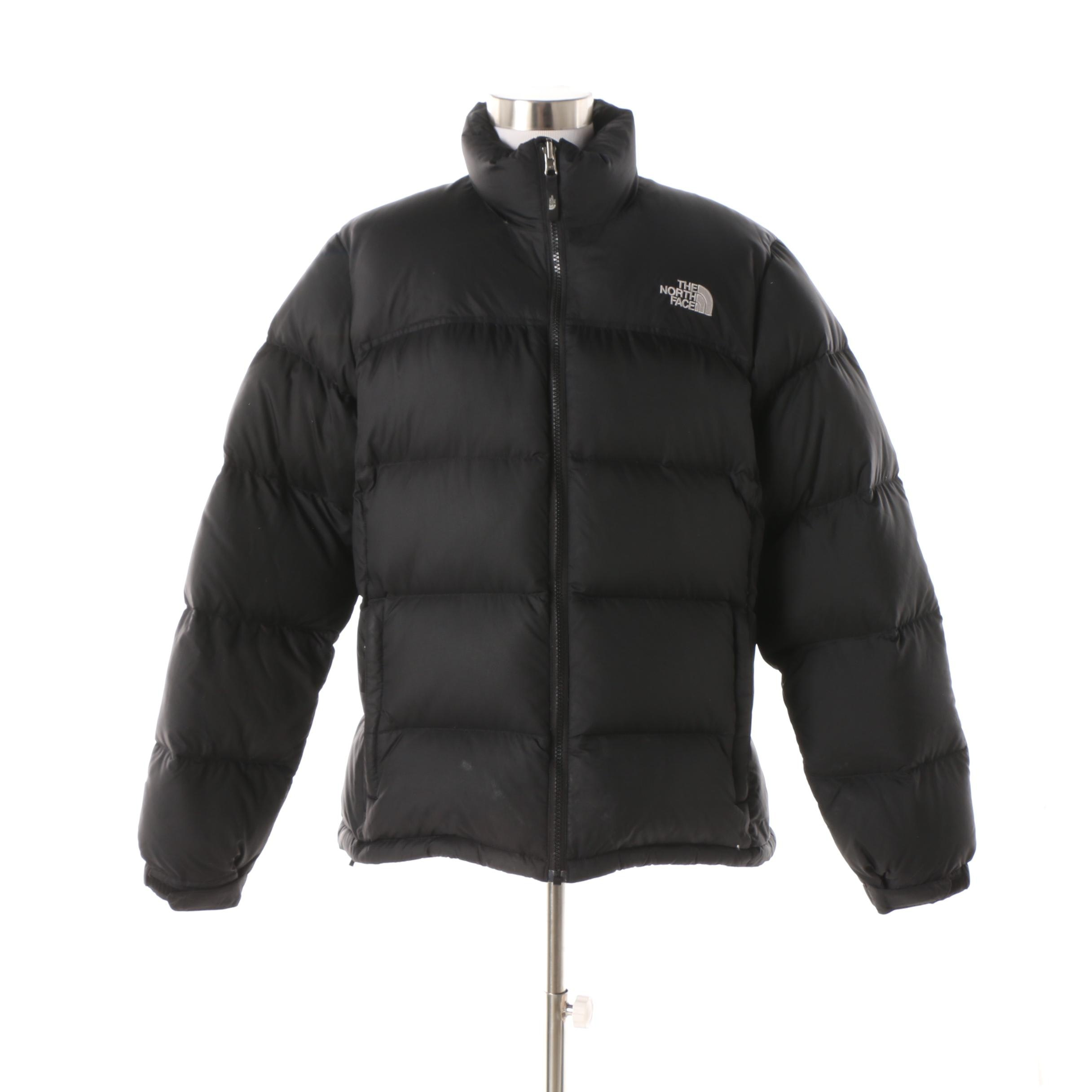 Women's The North Face 700 Down Black Puffer Jacket