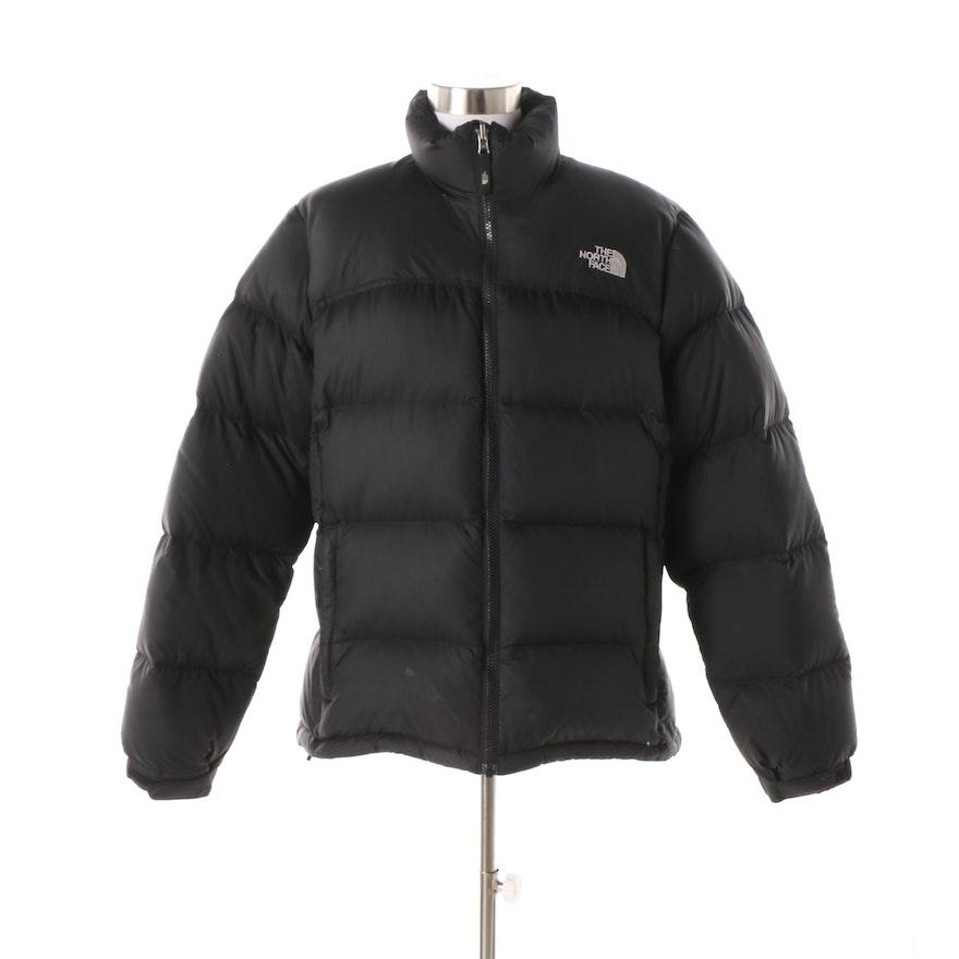 Women s The North Face 700 Down Black Puffer Jacket   EBTH 7d7a06d7b8
