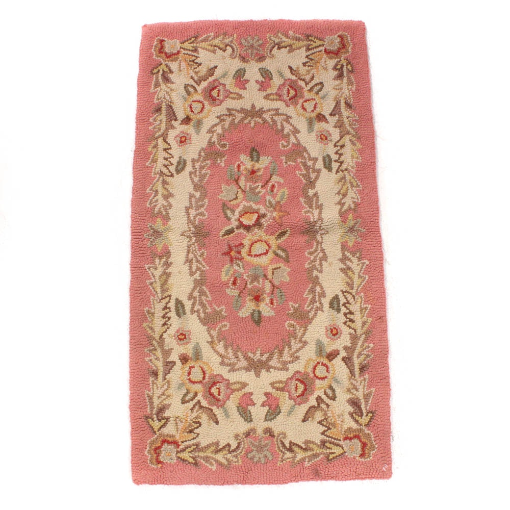 Semi-Antique Hooked Rug