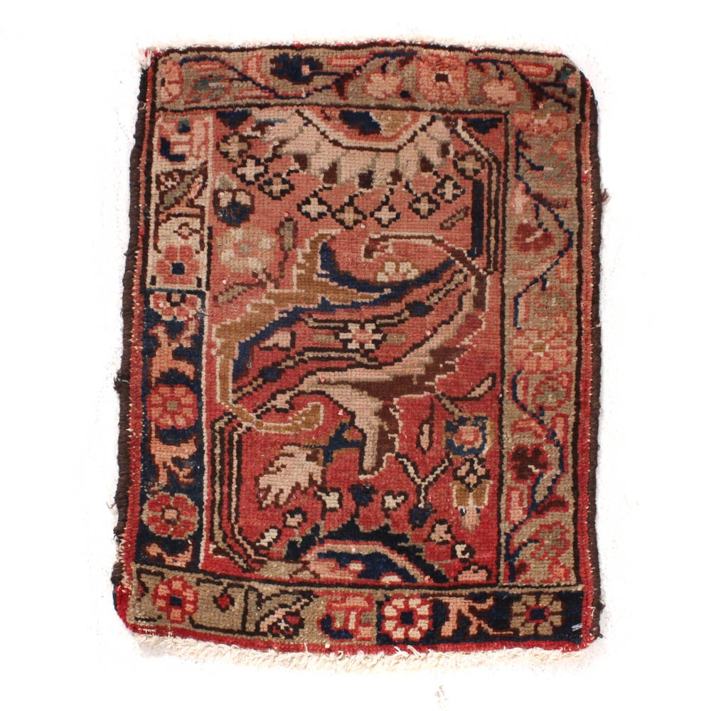 Circa 1900s Antique Hand-Knotted Northwest Persian Rug