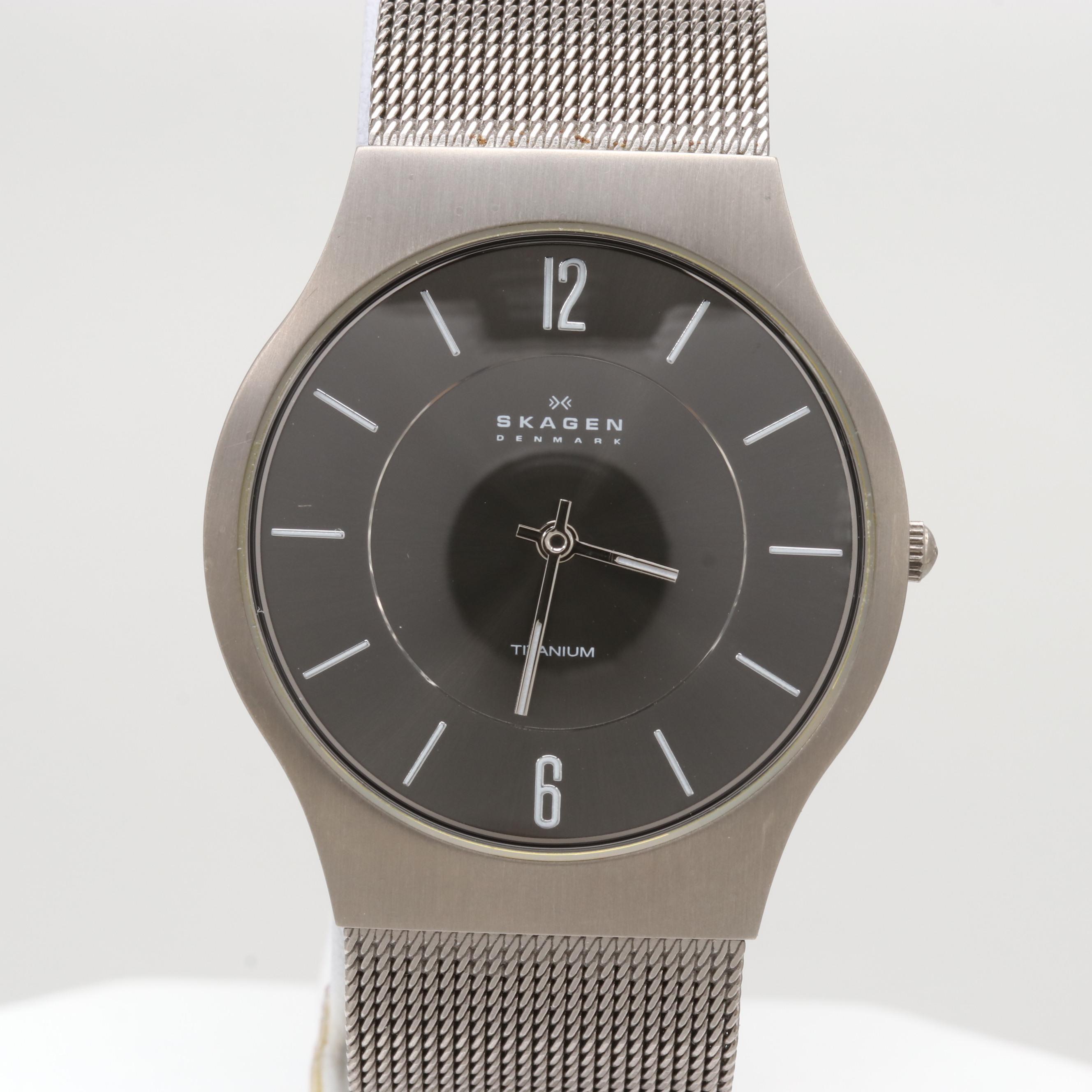 Skagen Titanium Quartz Wristwatch