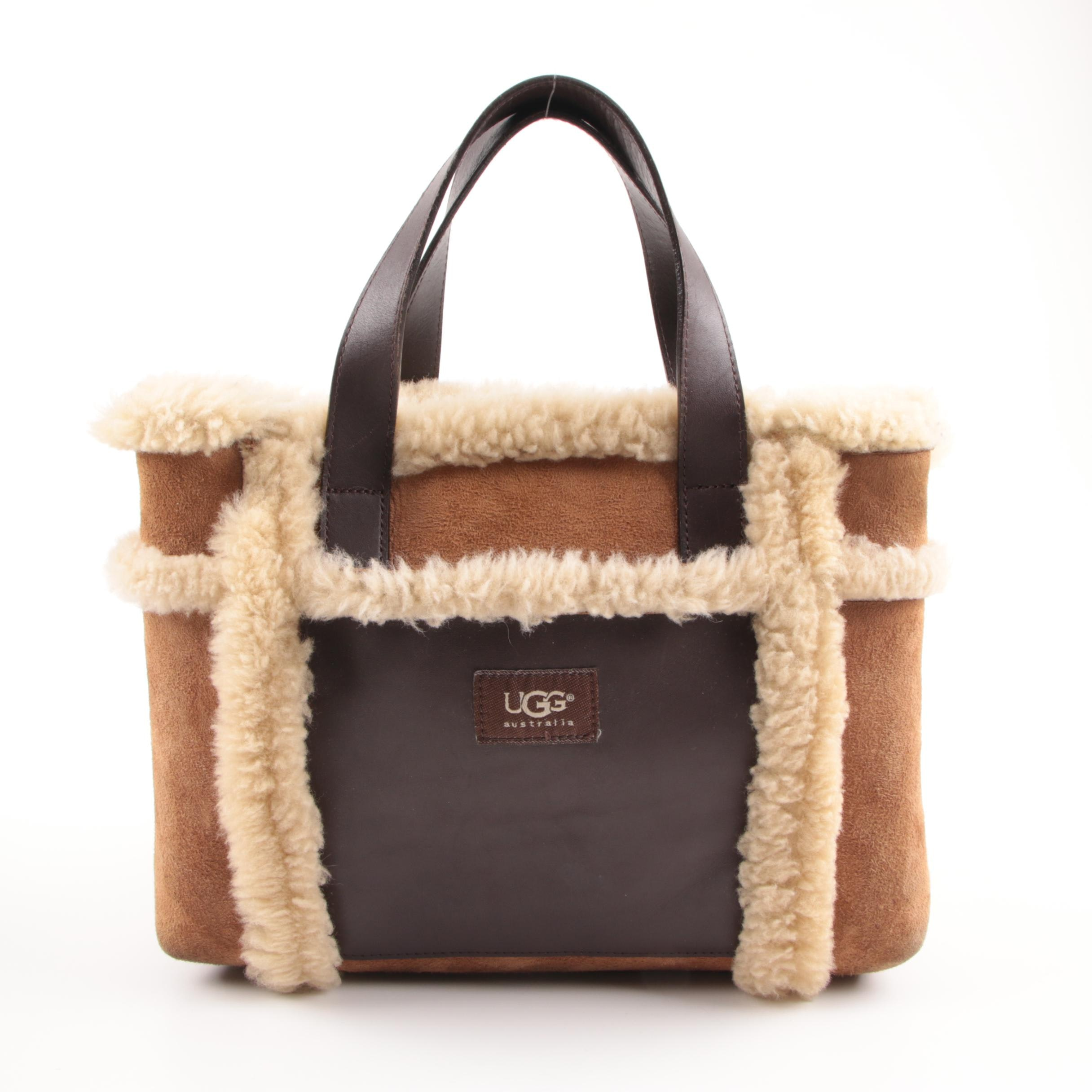 UGG Australia Sundance Sheepskin Handbag