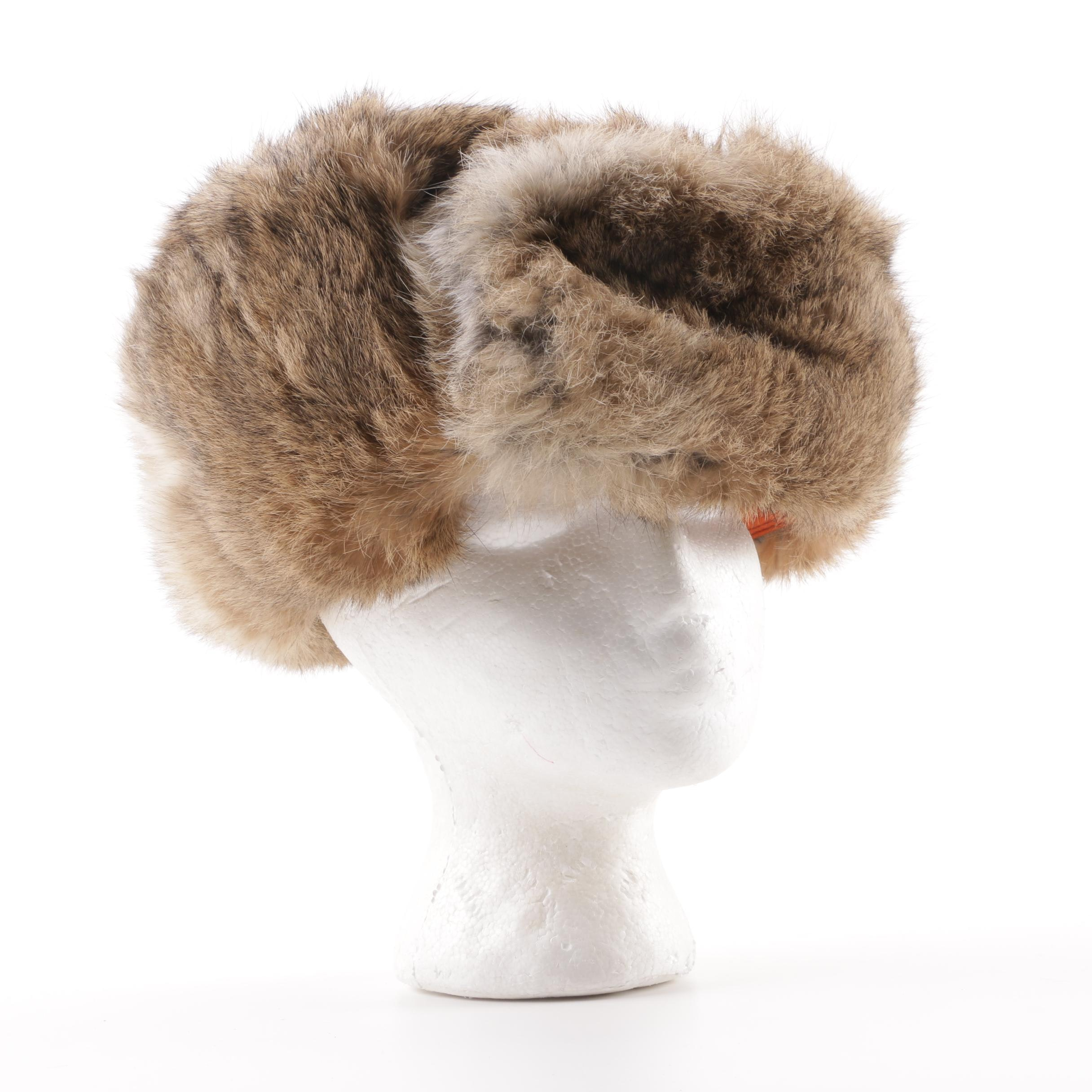 Mad Bomber Rabbit Fur Trapper Hat