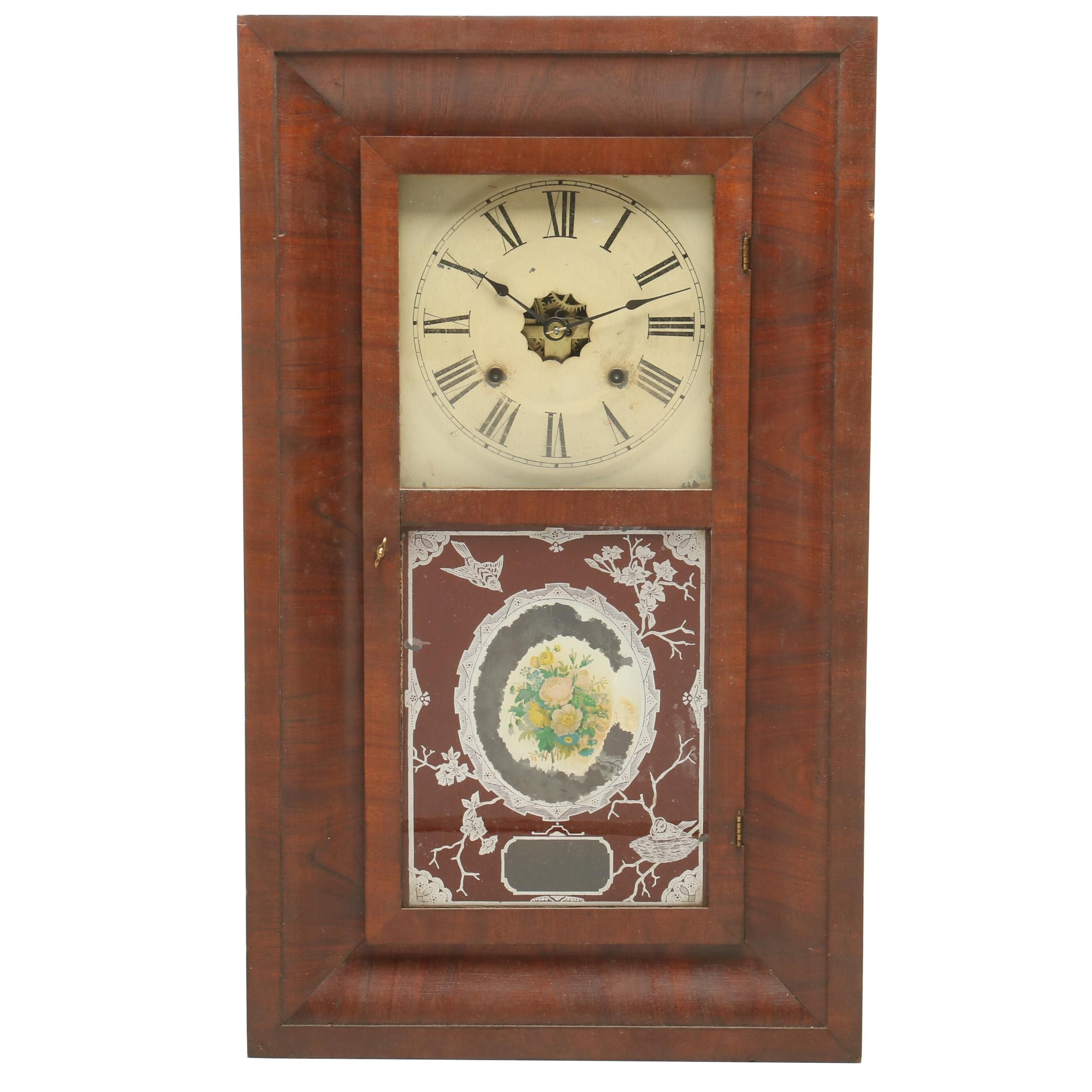 Ansonia Clock Company Ogee Weight Driven Shelf Clock