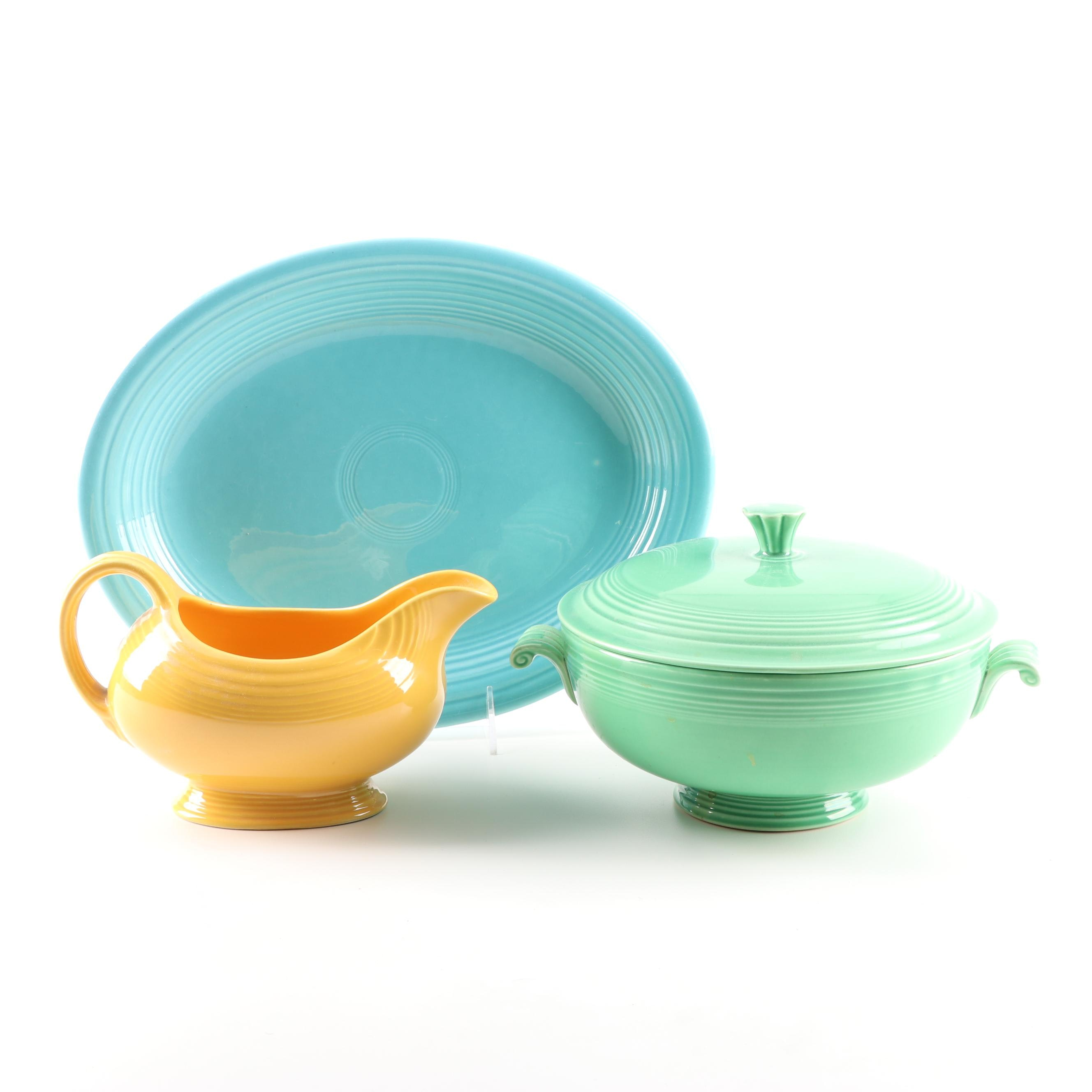 "Homer Laughlin ""Fiesta"" Ceramic Serveware, 1936-69"