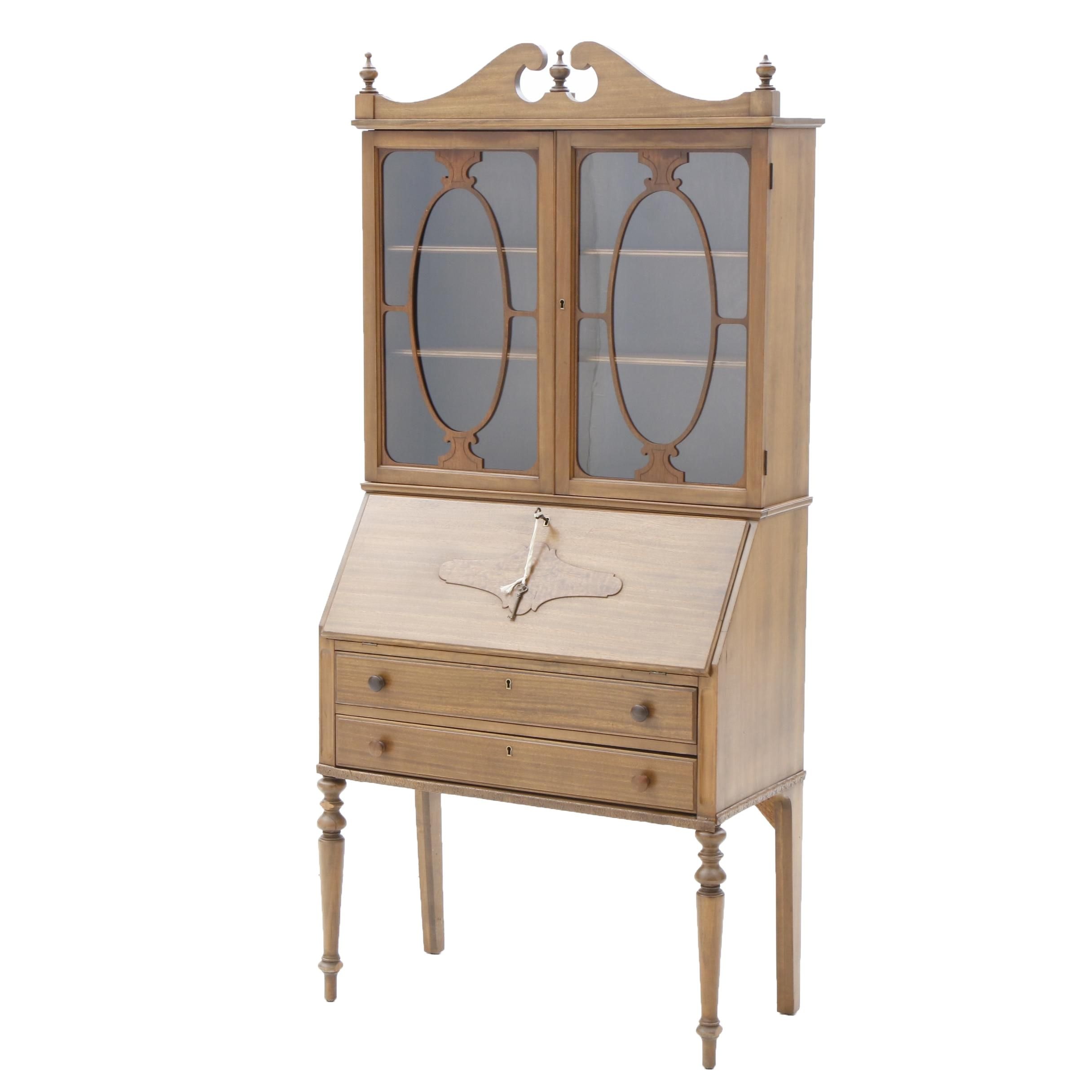 Federal Style Secretary Bookcase