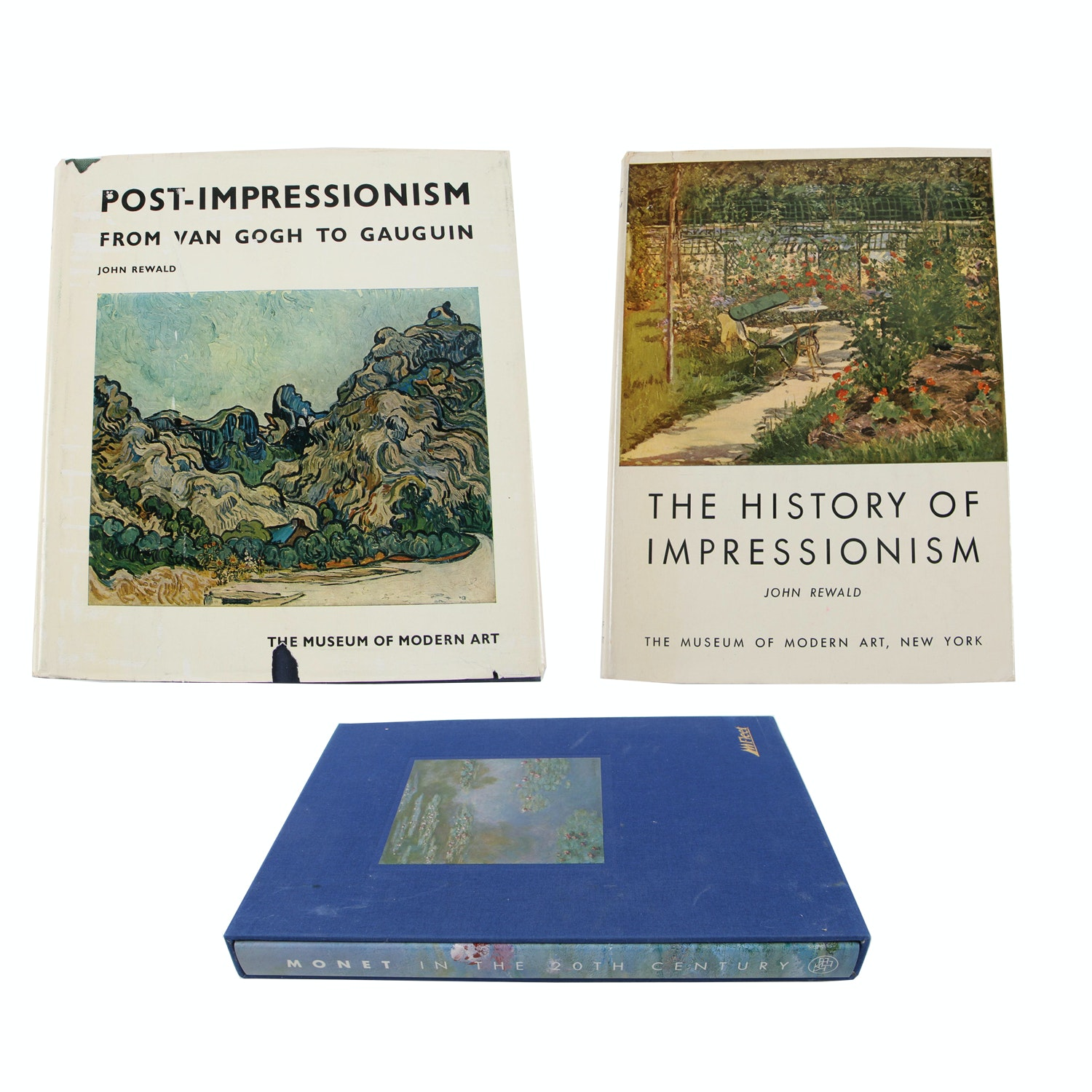 Art Books on Impressionism and Post-Impressionism featuring Claude Monet