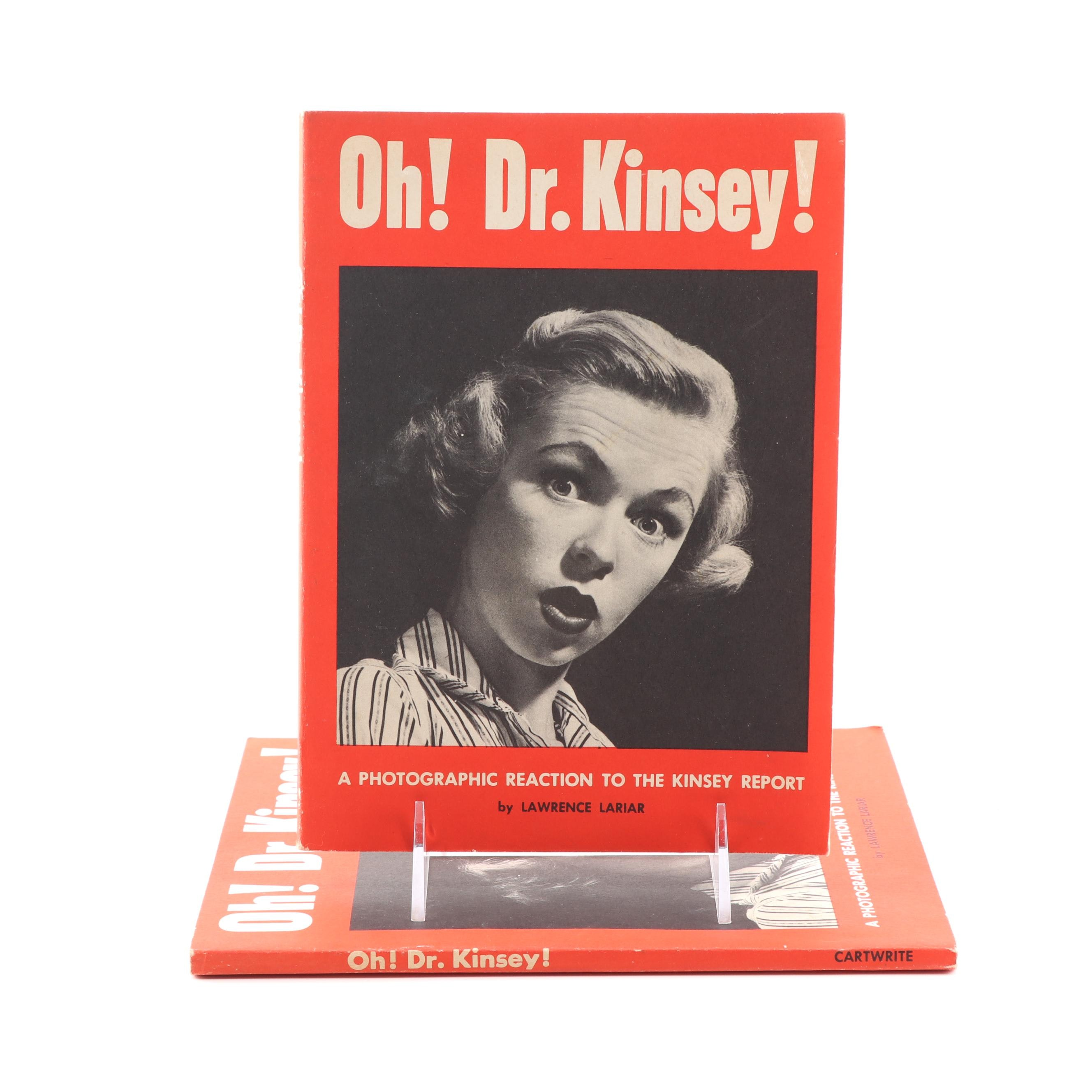 """1953 """"Oh! Dr. Kinsey! A Photographic Reaction to the Kinsey Report"""""""