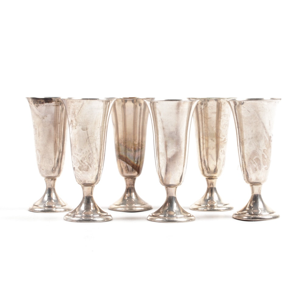Alvin Sterling Silver Cordial Cups