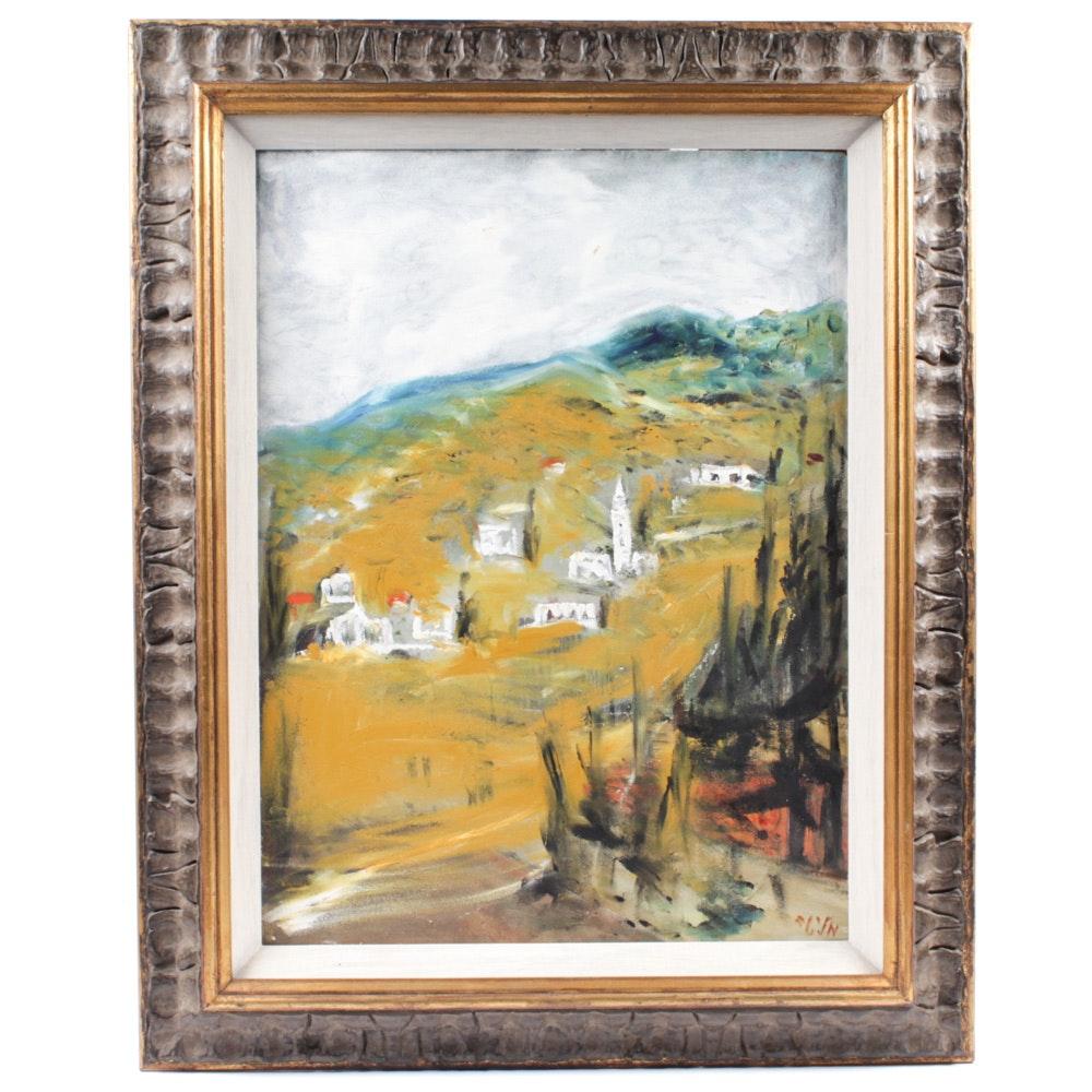 Malita Oil Painting of Galilee, Israel