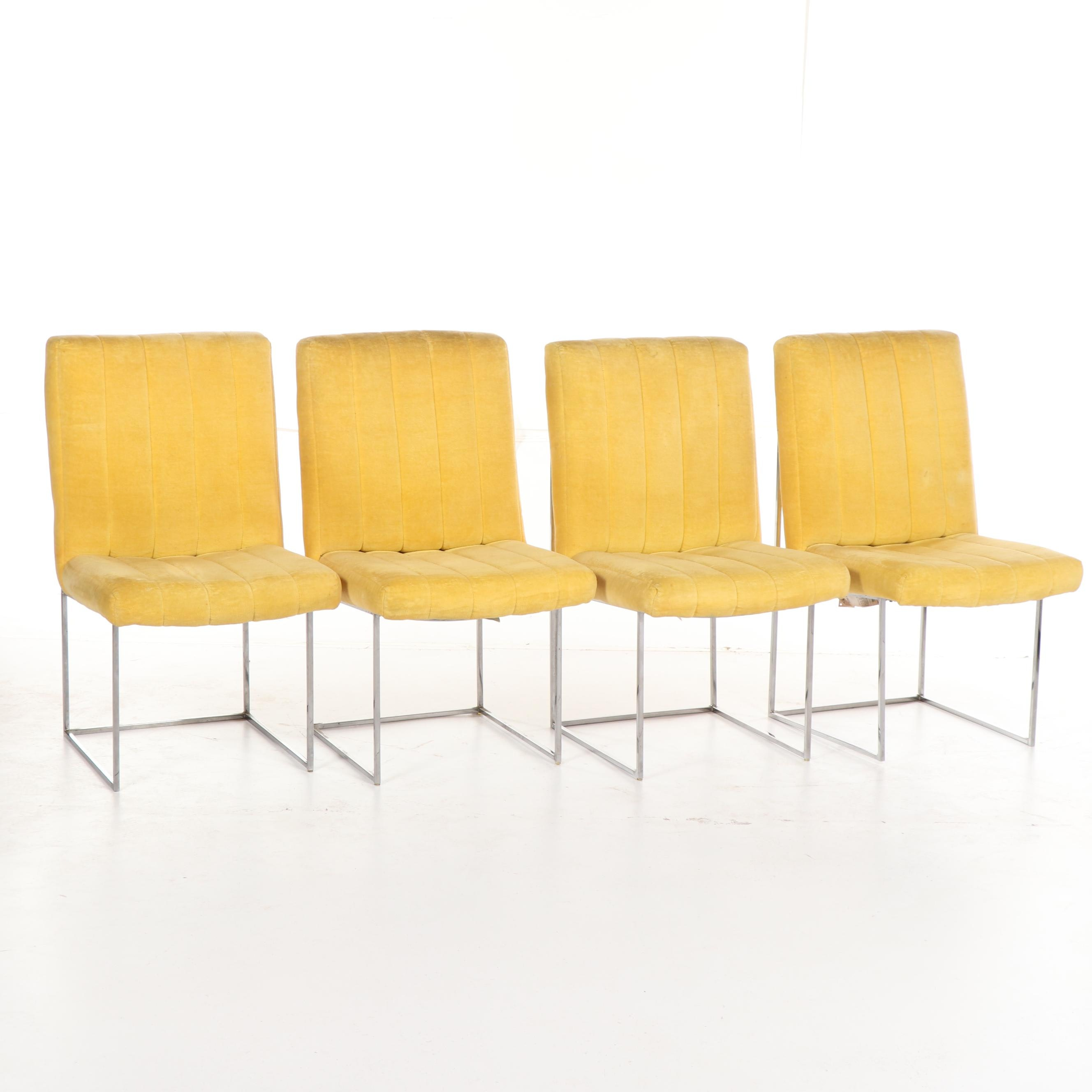 """Design Classic"" Dining Chairs by Milo Baughman for Thayer Coggin, Mid-20th C."