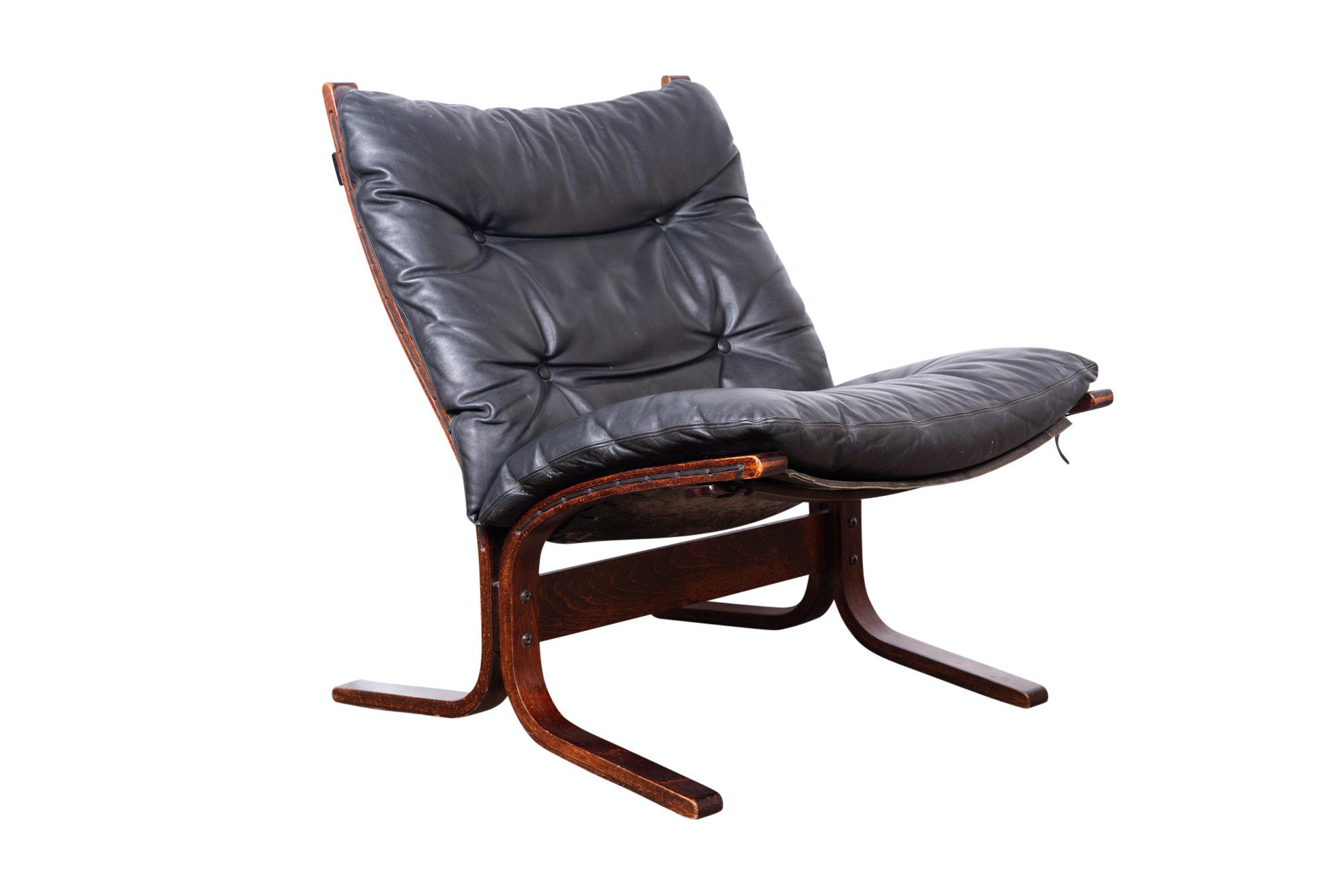 """Ingmar Relling Mid Century Modern """"Siesta"""" Chair for Westnofa"""