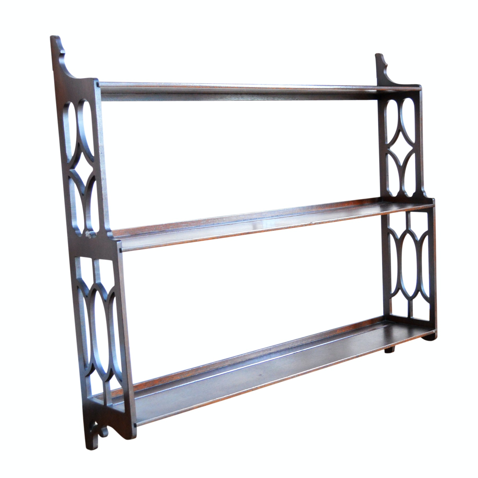 Chippendale Style Mahogany Plate Rack