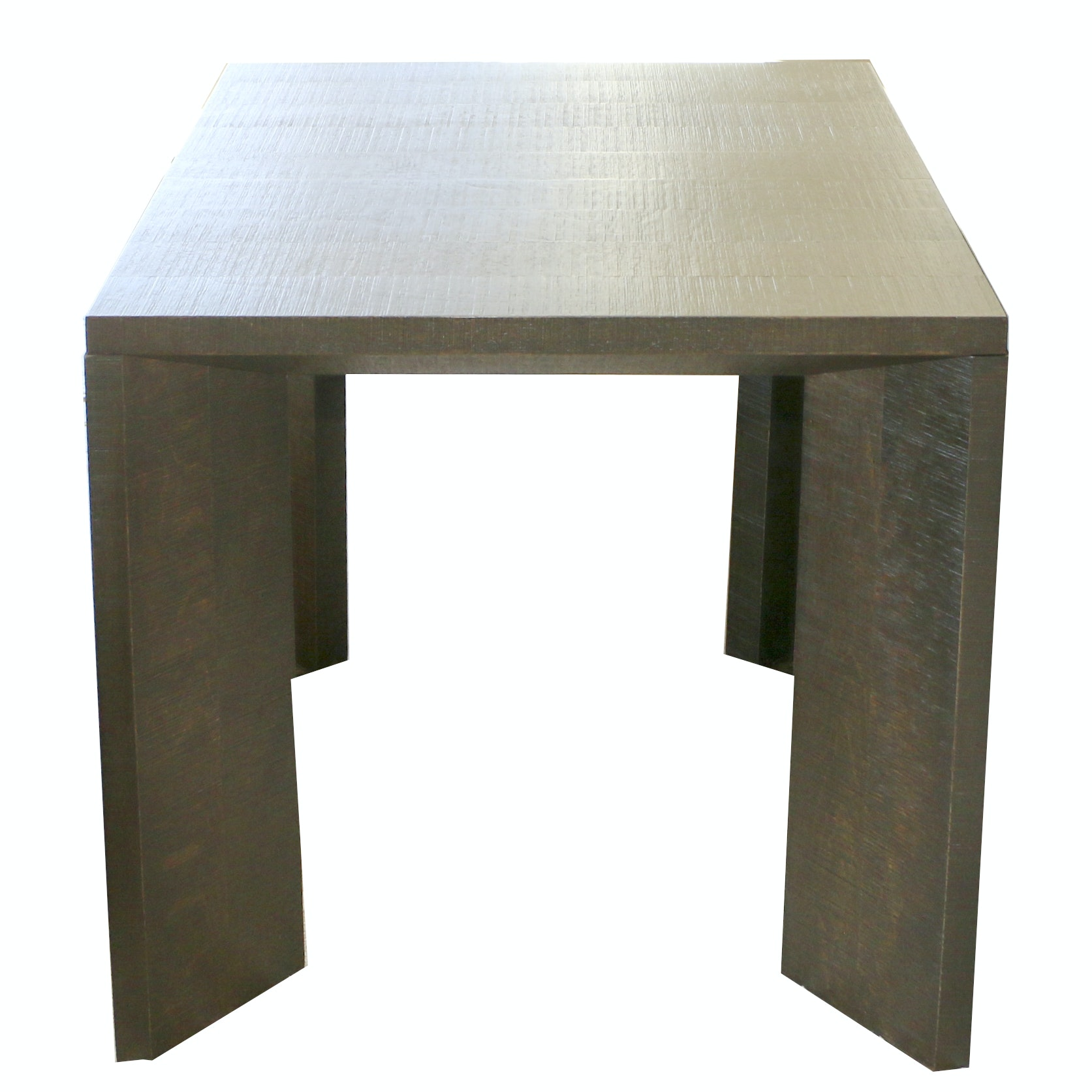 Contemporary Wood Side Table