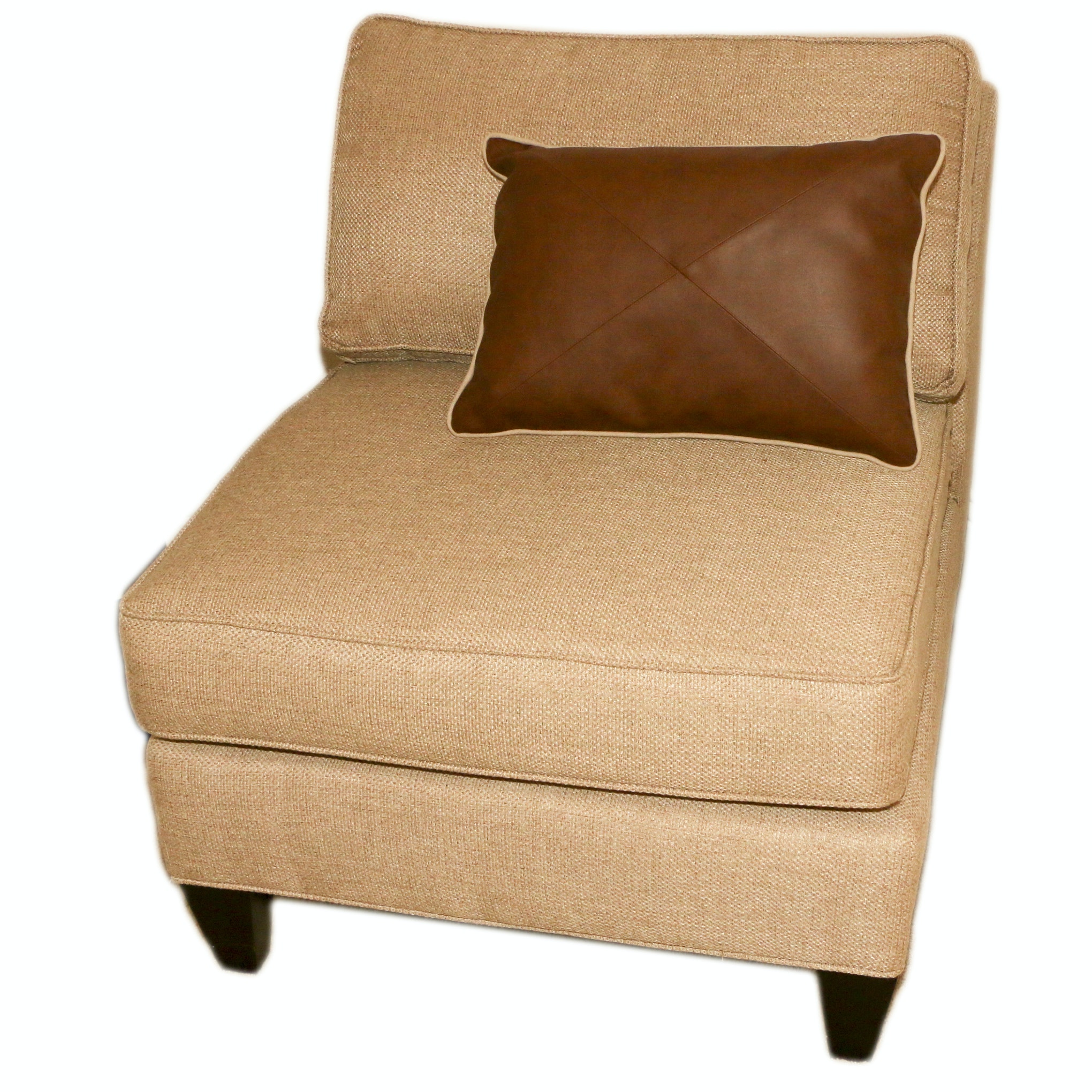 Contemporary Upholstered Accent Chair by Rowe Furniture