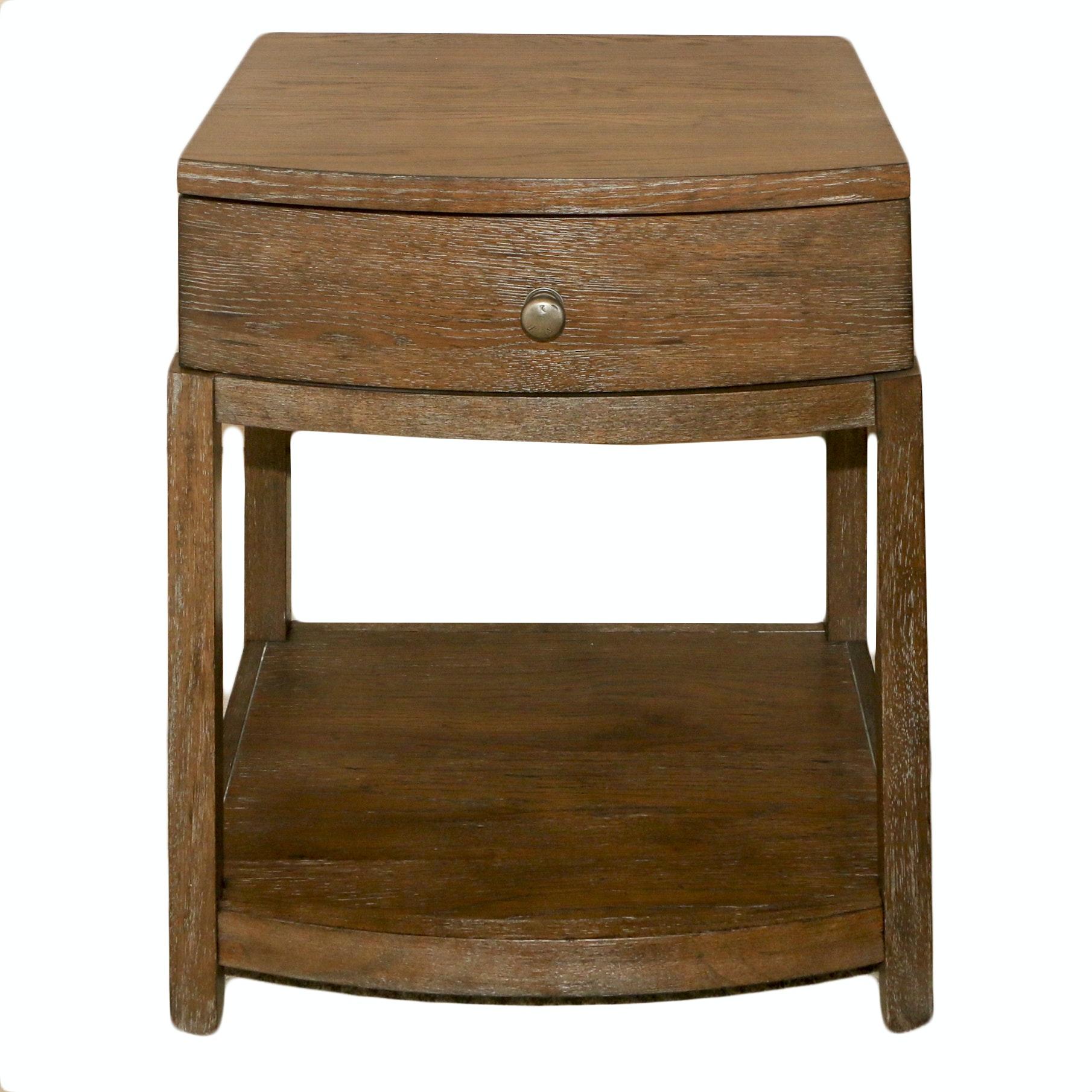 Wooden Nightstand by Bassett, 21st Century