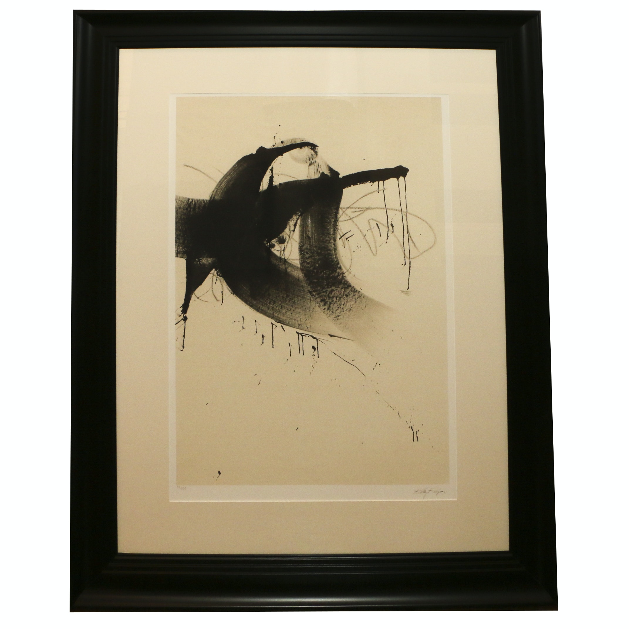 """Kelly Rogers Offset Lithograph """"O"""""""
