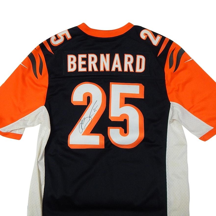 850561d6a Signed NFL Cincinnati Bengals Giovani Bernard  25 Football Jersey   EBTH