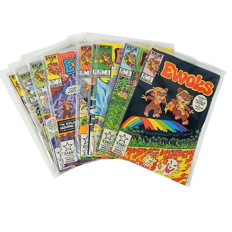 "1980s Marvel/Star Comics ""Ewoks"" Comic Books"