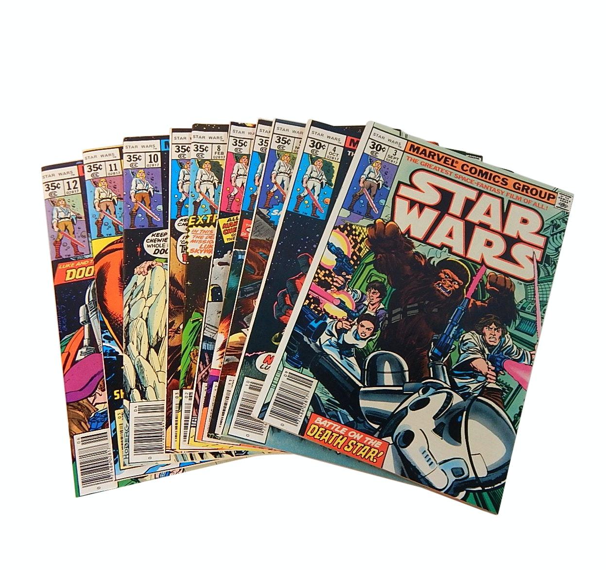 "Bronze Age 1970s ""Star Wars"" Marvel Comic Books"