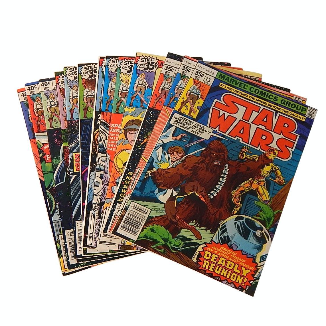 "Bronze Age 1970s Marvel ""Star Wars"" Comic Books"